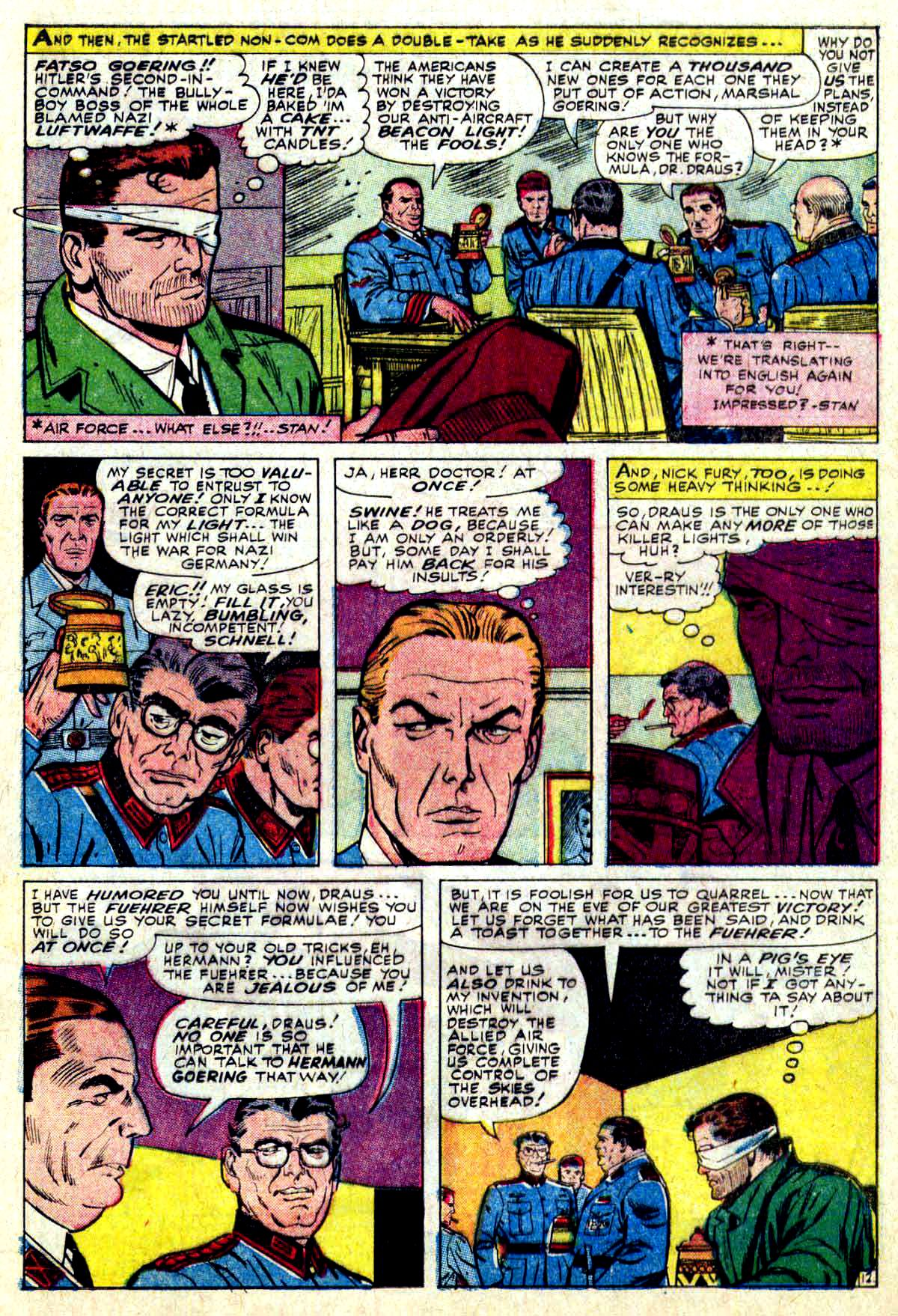 Read online Sgt. Fury comic -  Issue #27 - 17