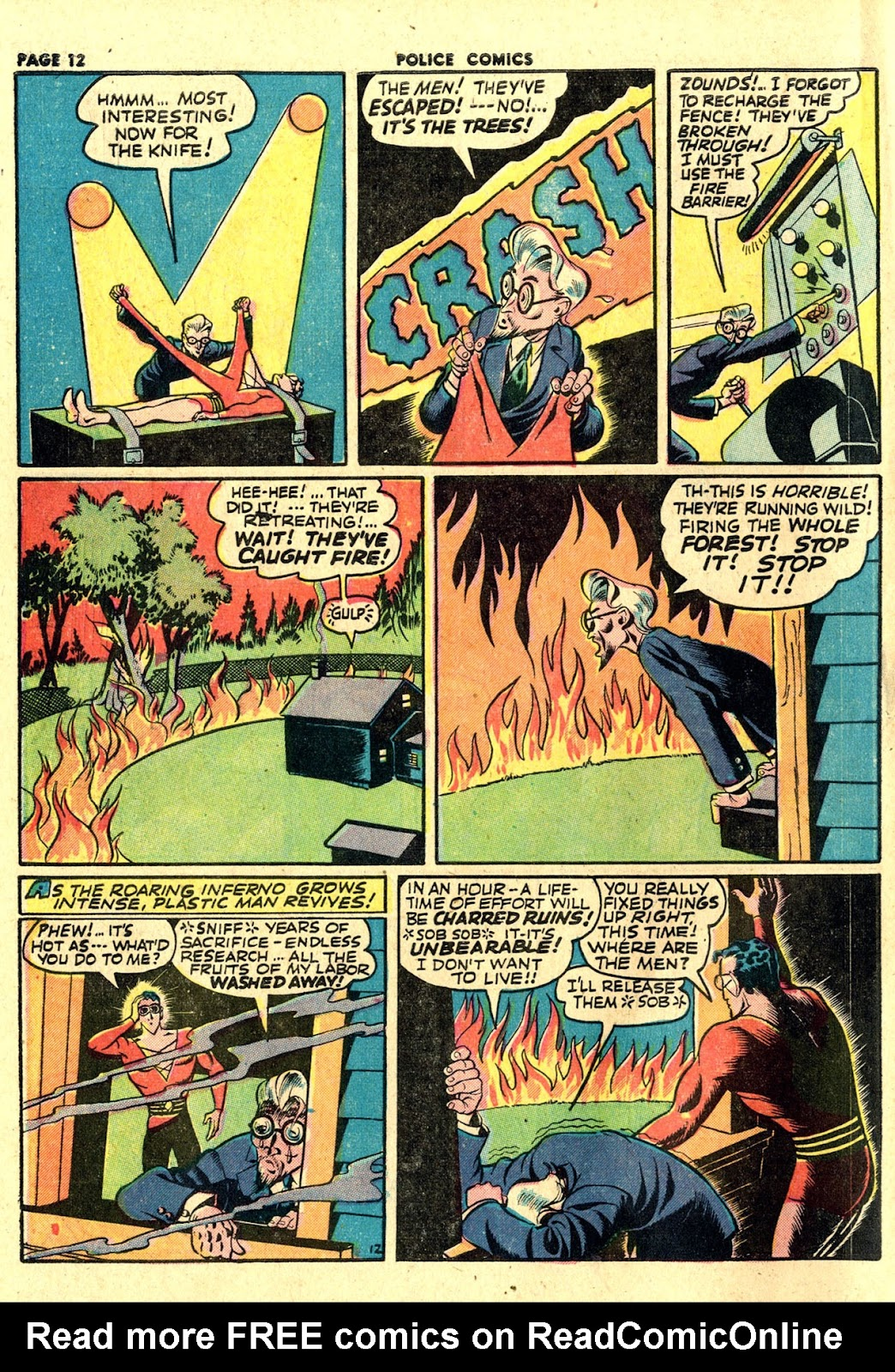 Police Comics issue 19 - Page 14