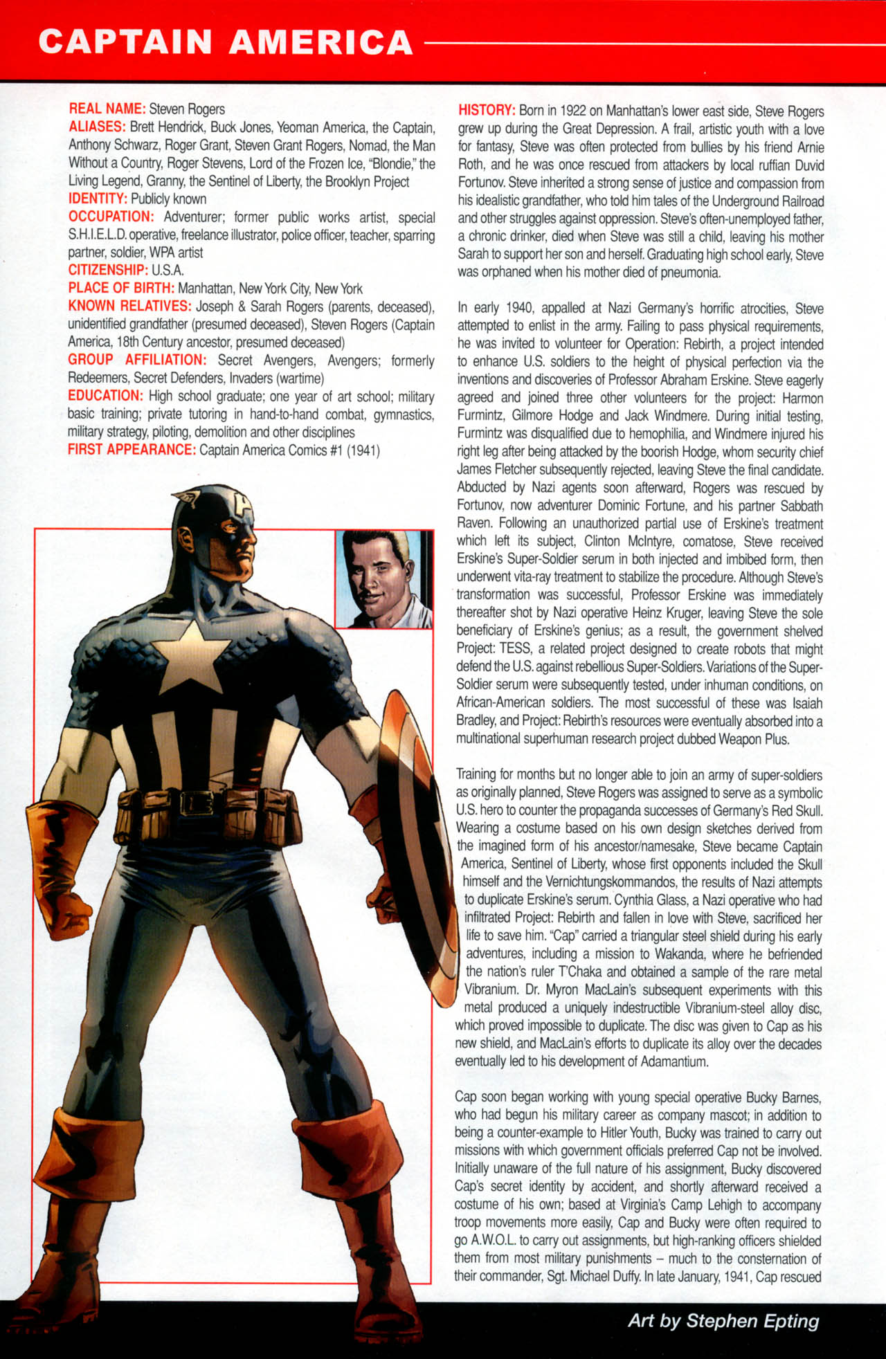 Read online All-New Official Handbook of the Marvel Universe A to Z: Update comic -  Issue #2 - 16