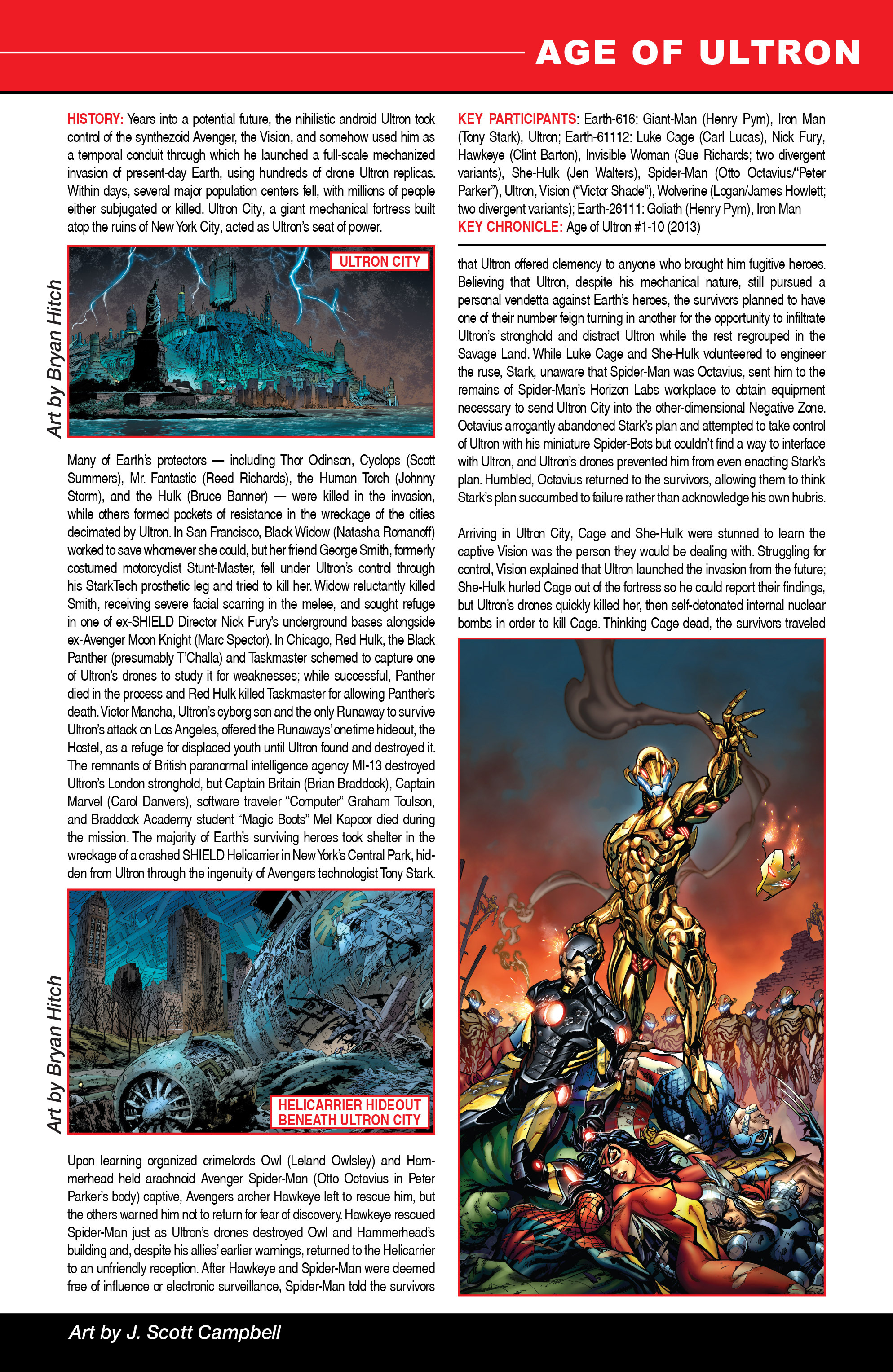 Read online Secret Wars: Official Guide to the Marvel Multiverse comic -  Issue # Full - 3