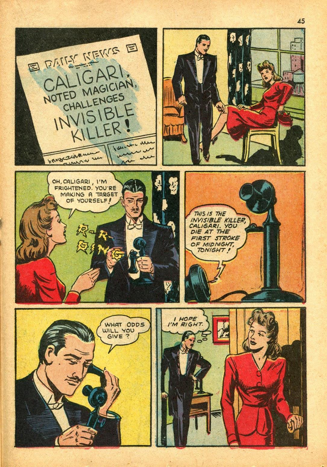 Read online Super-Magician Comics comic -  Issue #15 - 44