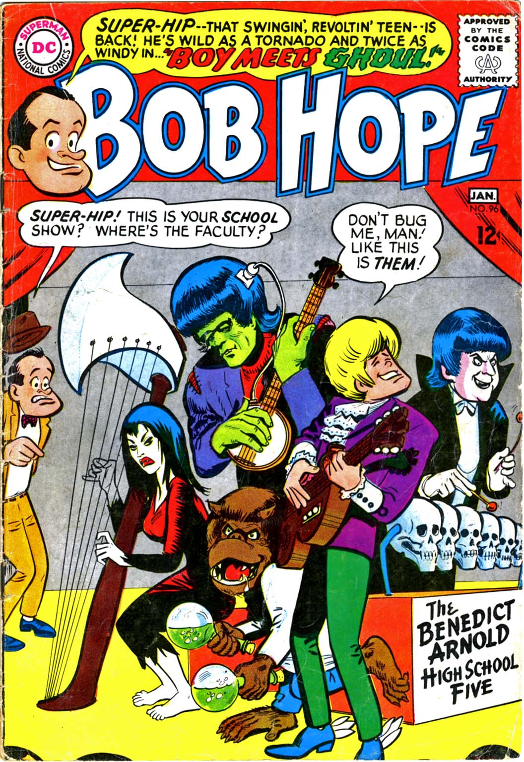 The Adventures of Bob Hope issue 96 - Page 1