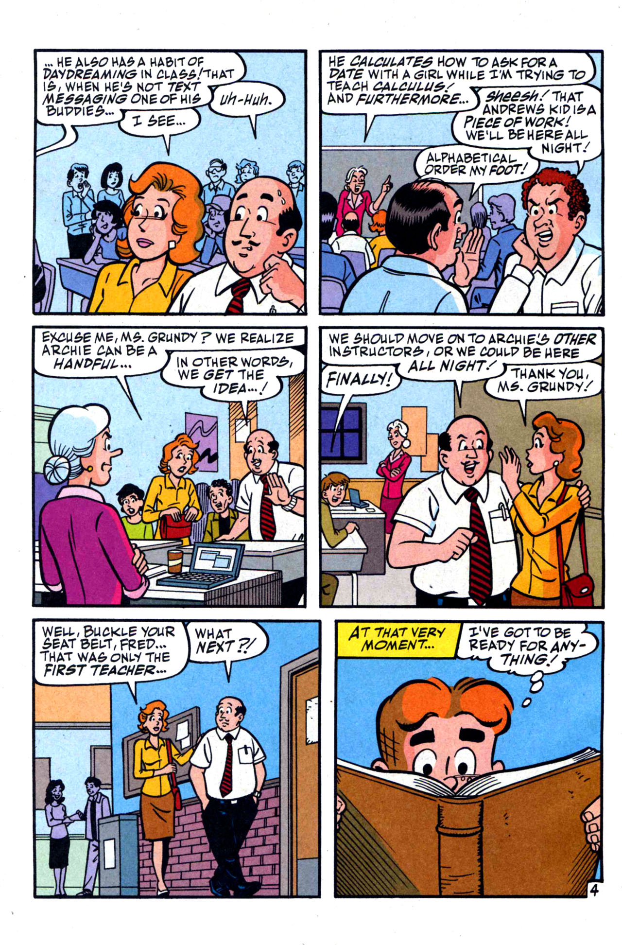Read online Archie (1960) comic -  Issue #590 - 6