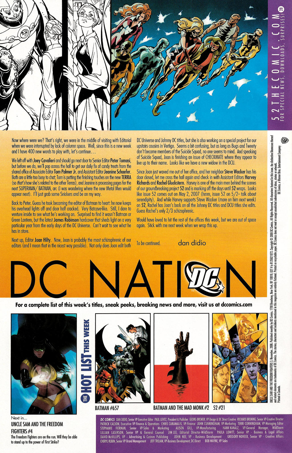 Read online Uncle Sam and the Freedom Fighters (2006) comic -  Issue #3 - 40