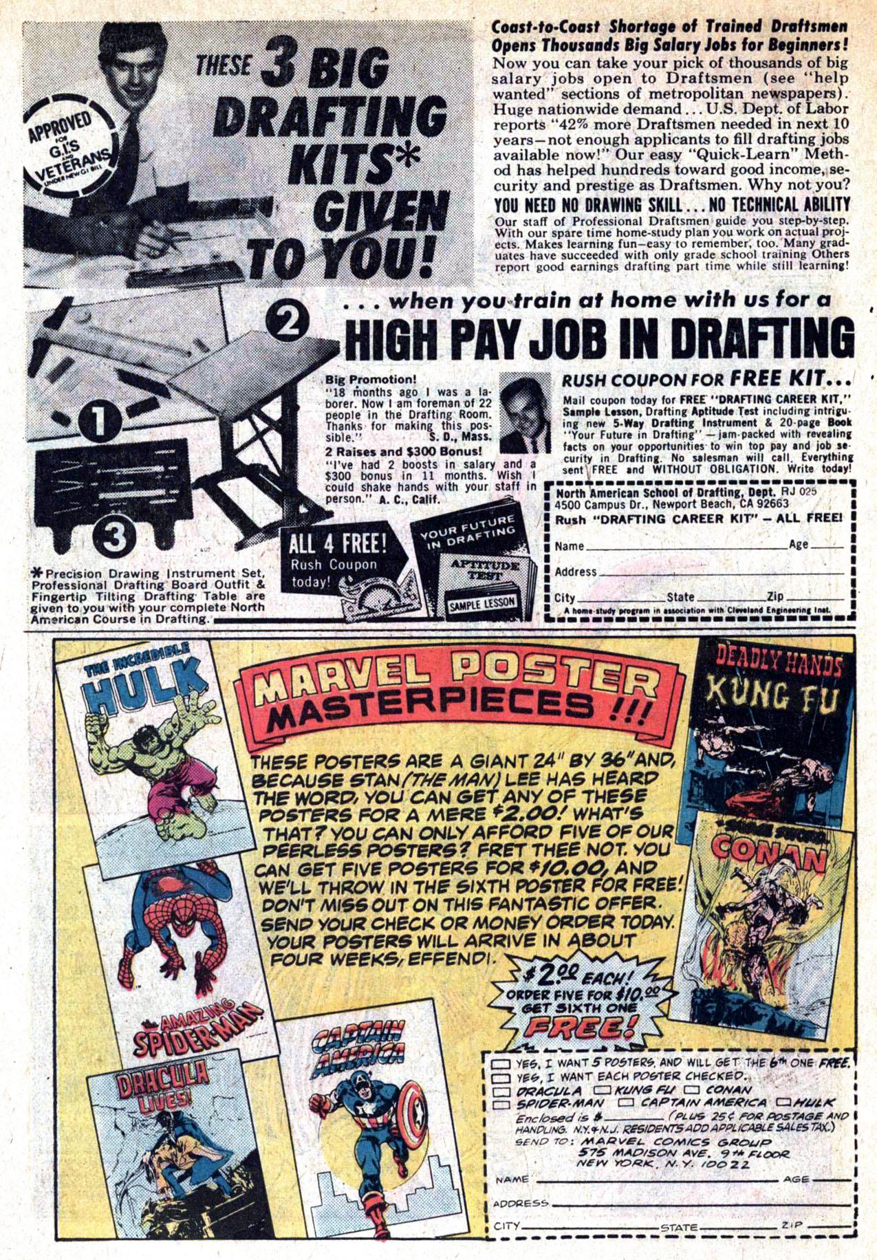 Read online Amazing Adventures (1970) comic -  Issue #30 - 33