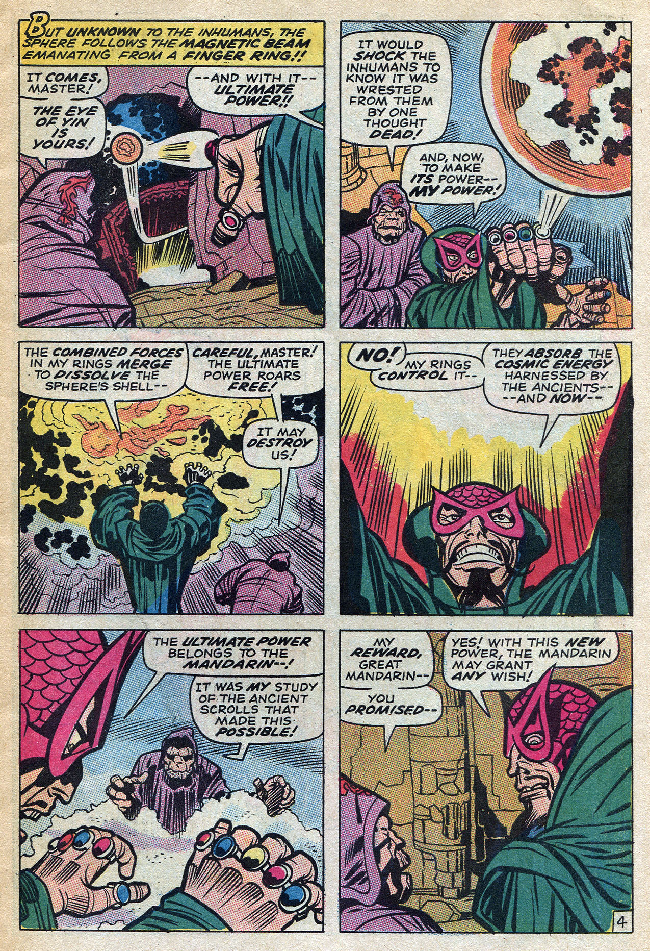 Read online Amazing Adventures (1970) comic -  Issue #4 - 7