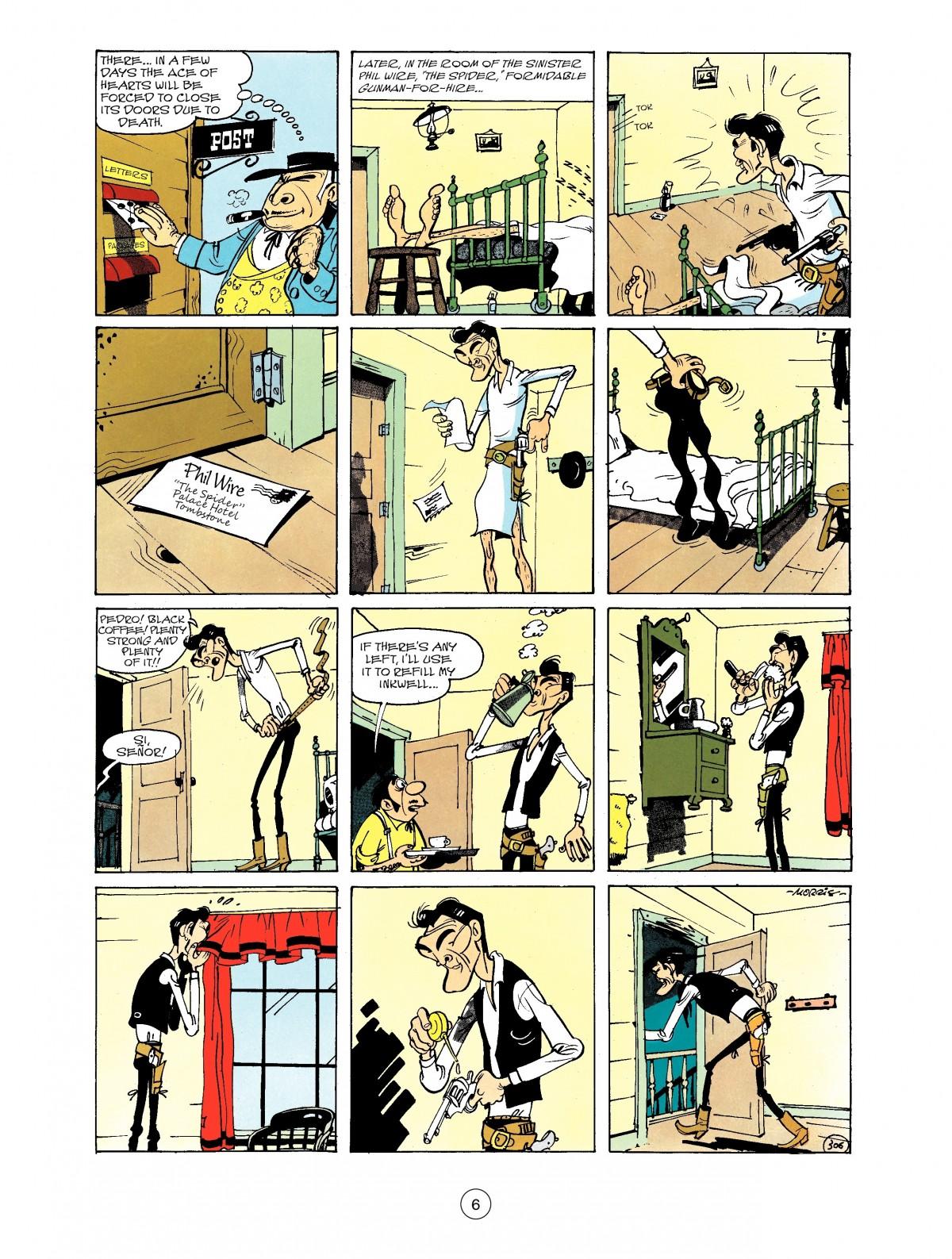 Read online A Lucky Luke Adventure comic -  Issue #40 - 6