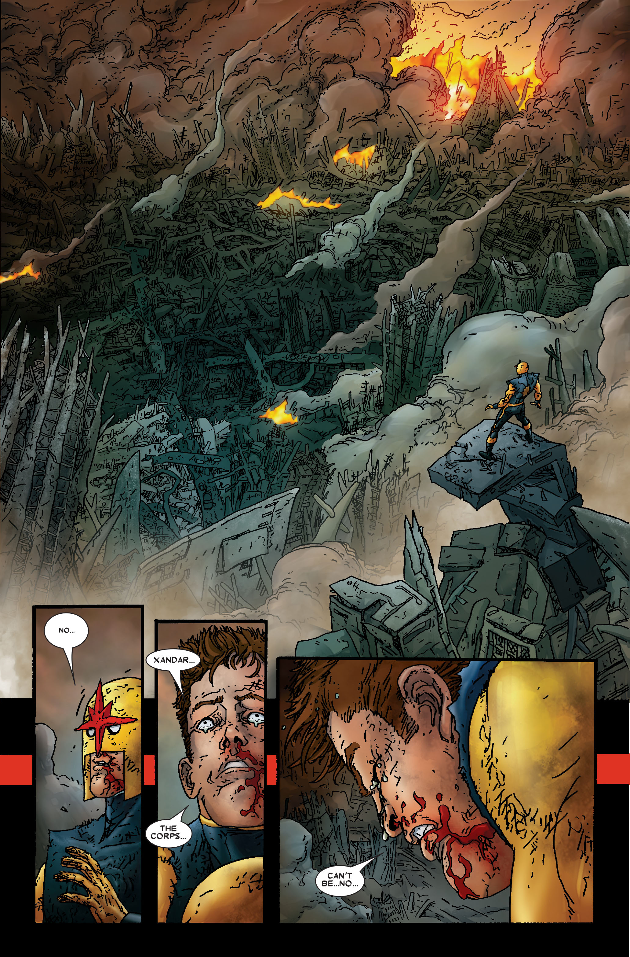 Read online Annihilation: Prologue comic -  Issue #Annihilation: Prologue Full - 33