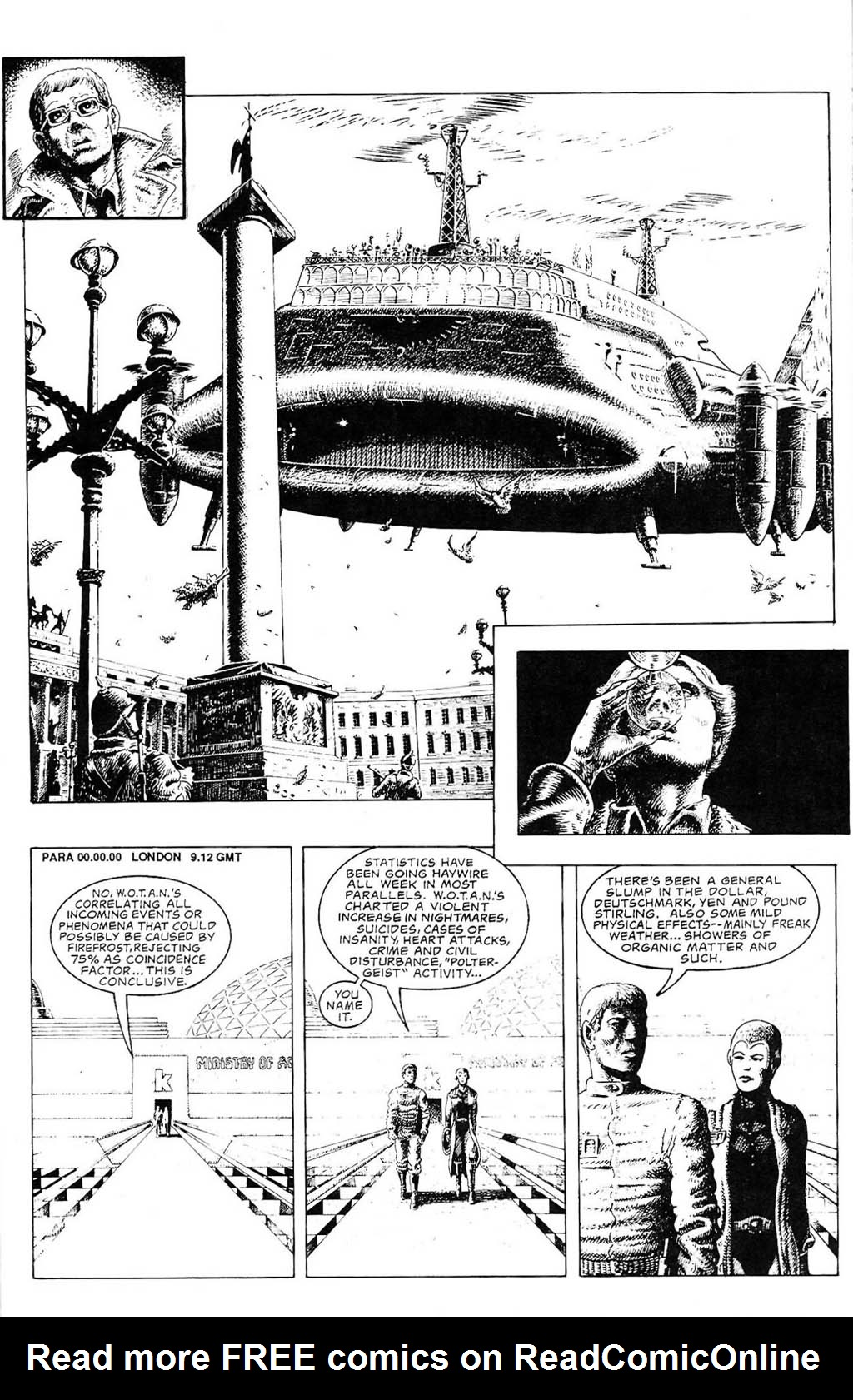 Read online The Adventures of Luther Arkwright comic -  Issue #2 - 7