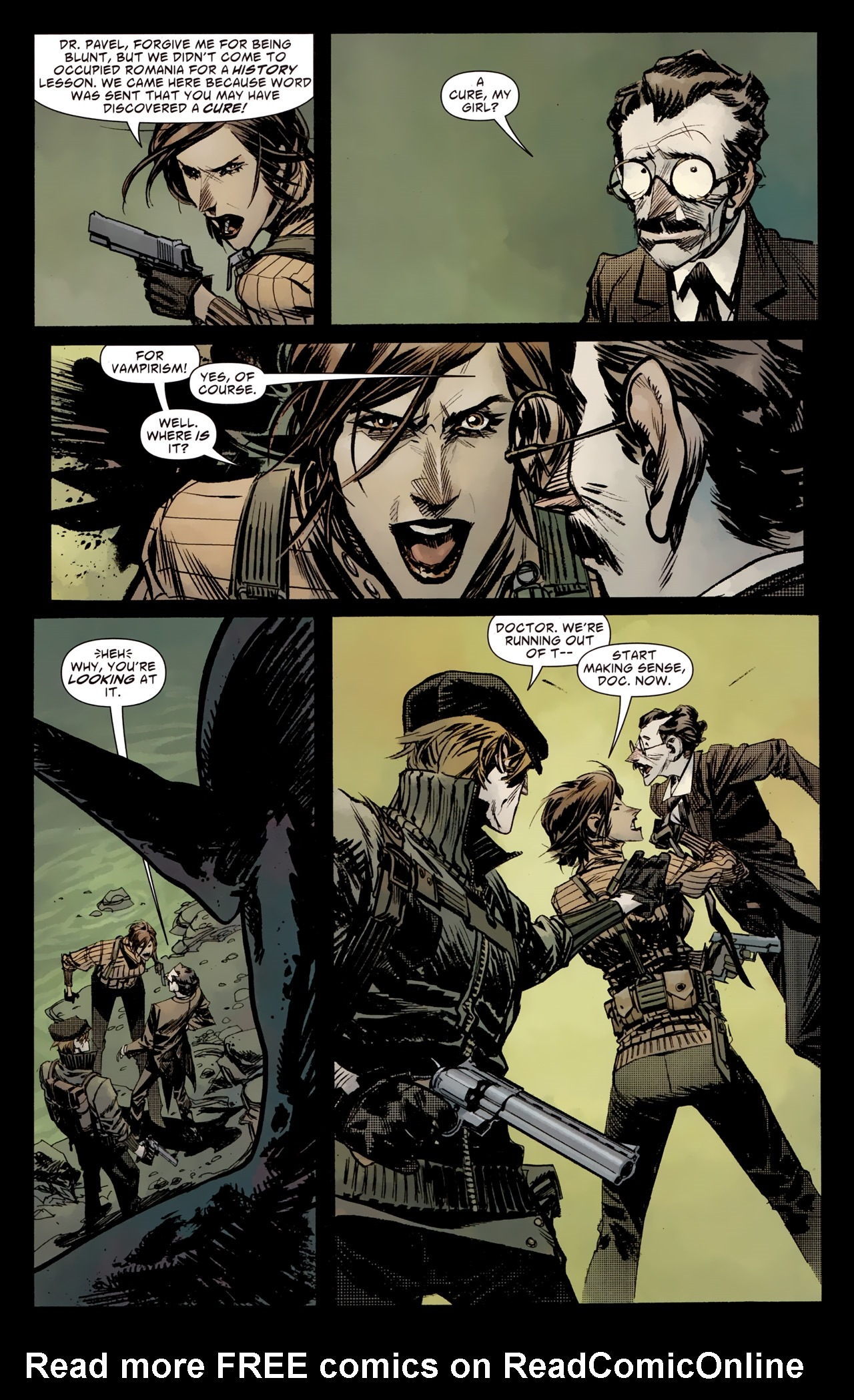 Read online American Vampire: Survival of the Fittest comic -  Issue #4 - 8