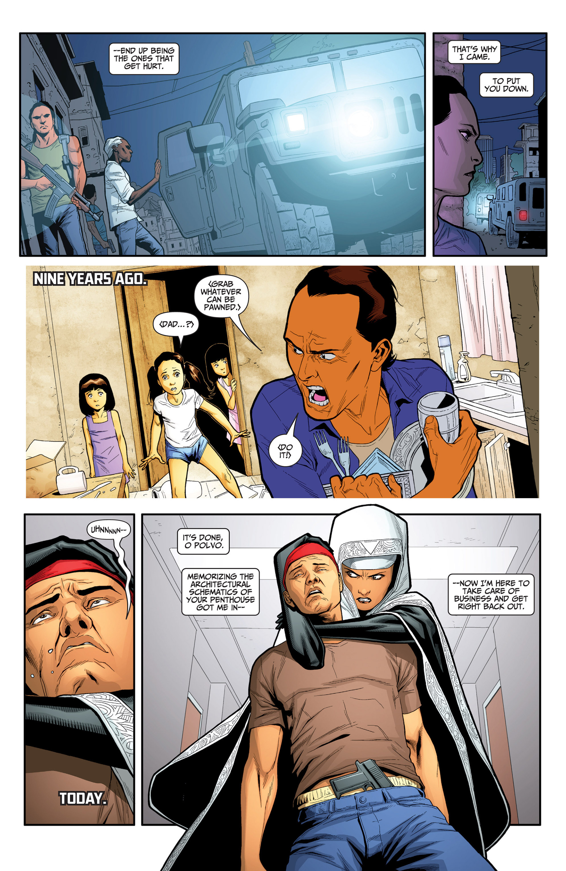 Read online Archer and Armstrong comic -  Issue #24 - 12