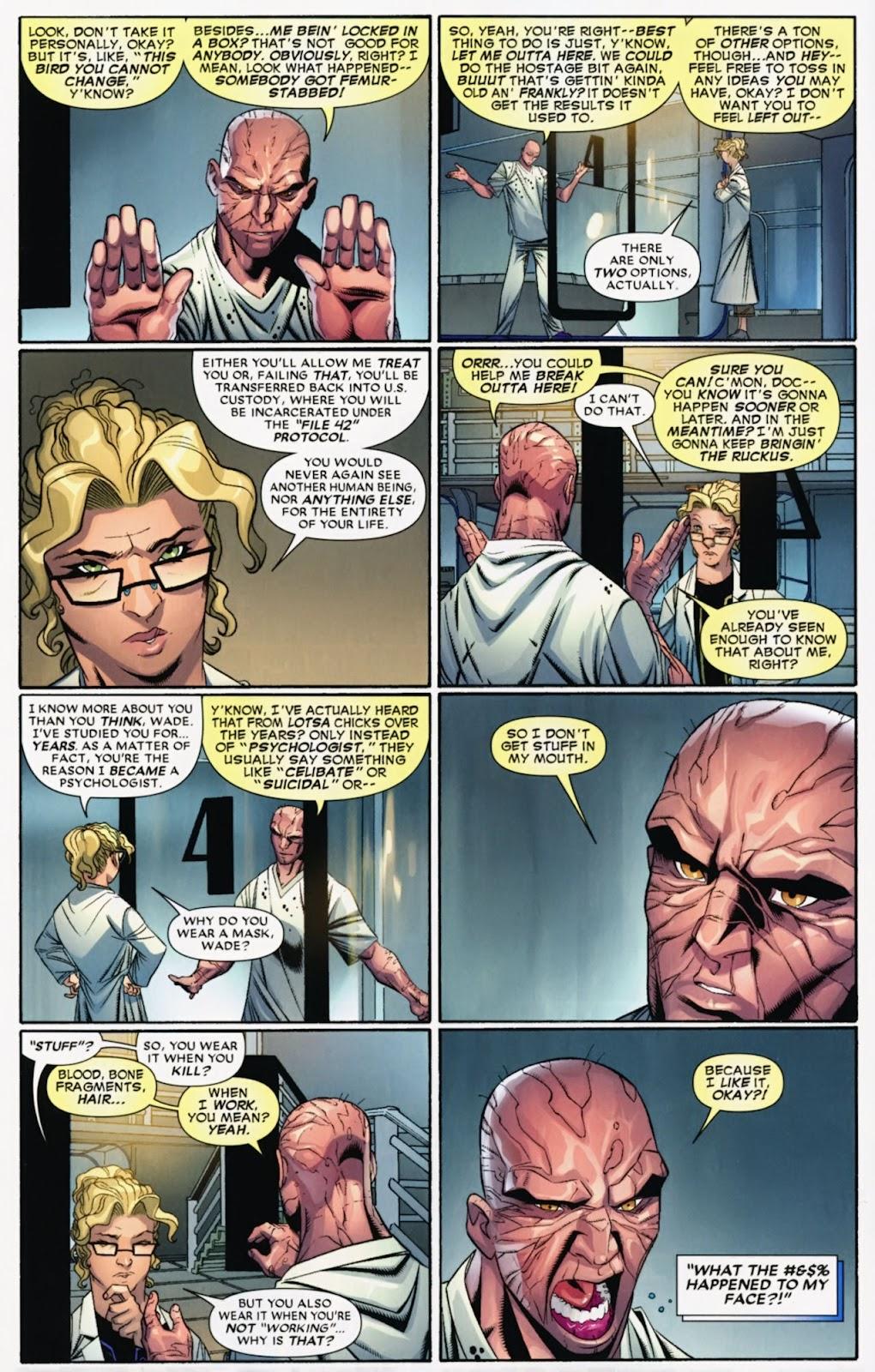 Read online Deadpool (2008) comic -  Issue #40 - 21