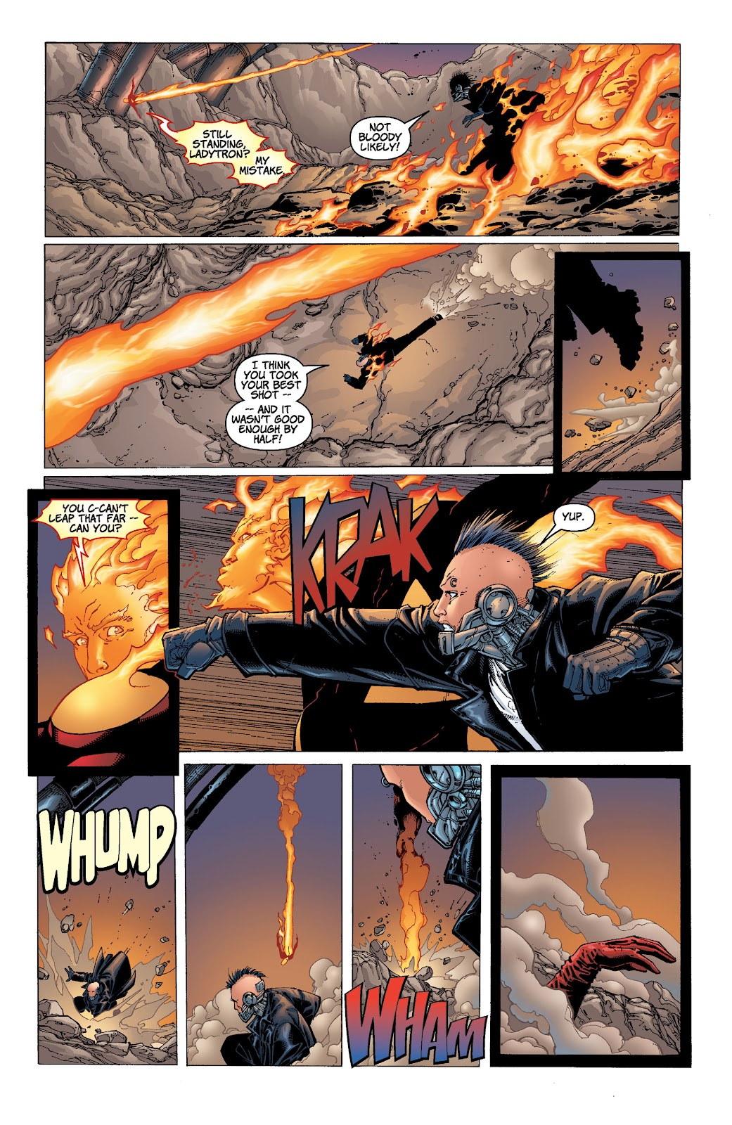 Read online Divine Right comic -  Issue # _TPB The Adventures of Max Faraday (Part 4) - 11