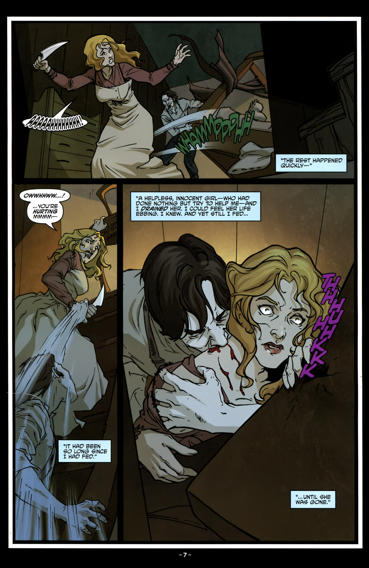 Read online True Blood (2010) comic -  Issue #6 - 10