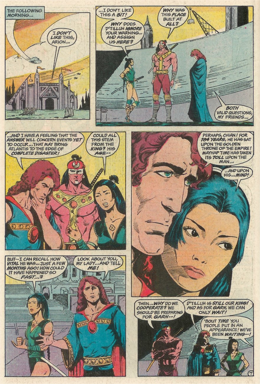 Read online Arion, Lord of Atlantis comic -  Issue #23 - 8