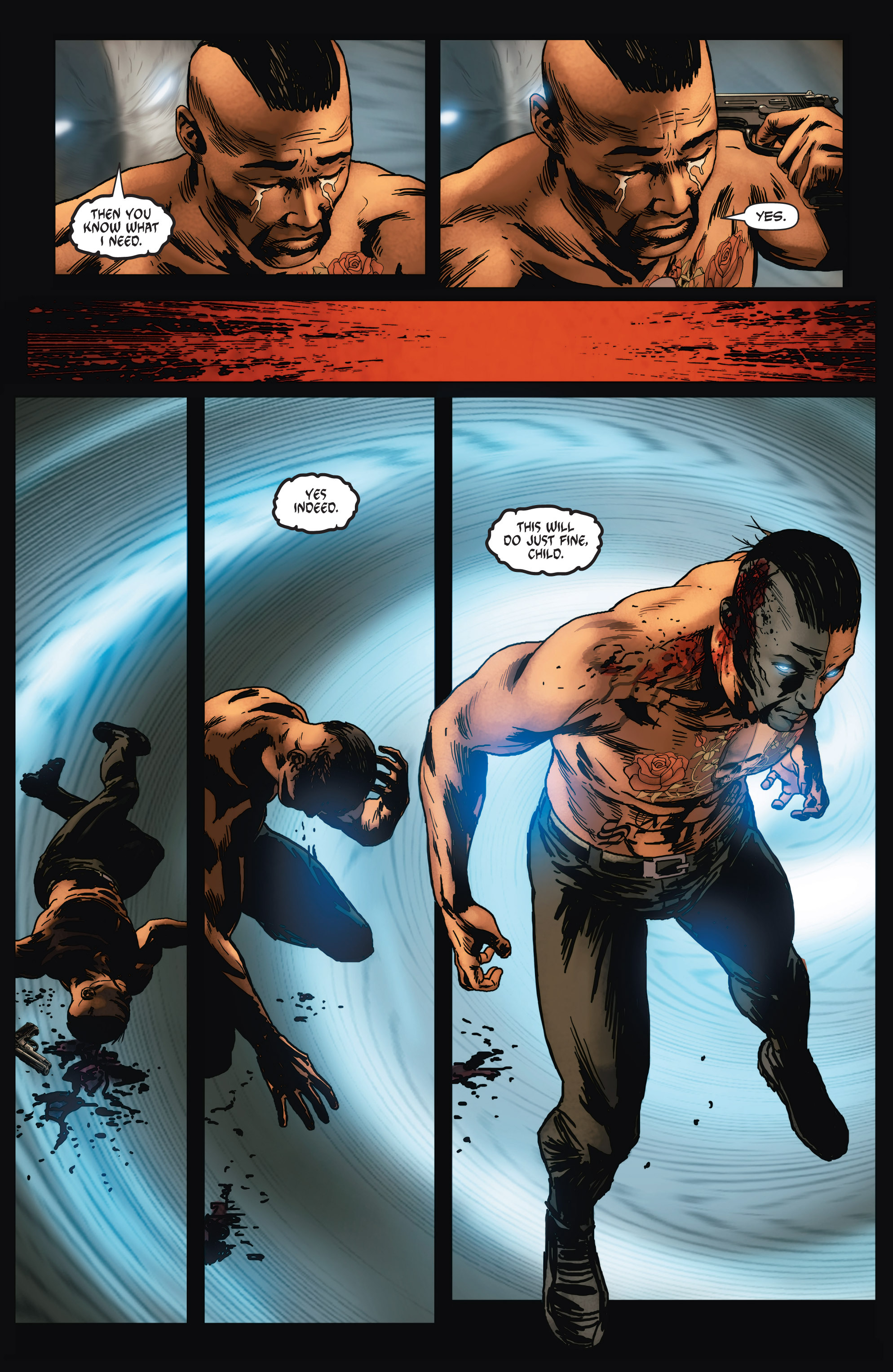 Read online Shadowman (2012) comic -  Issue #6 - 7