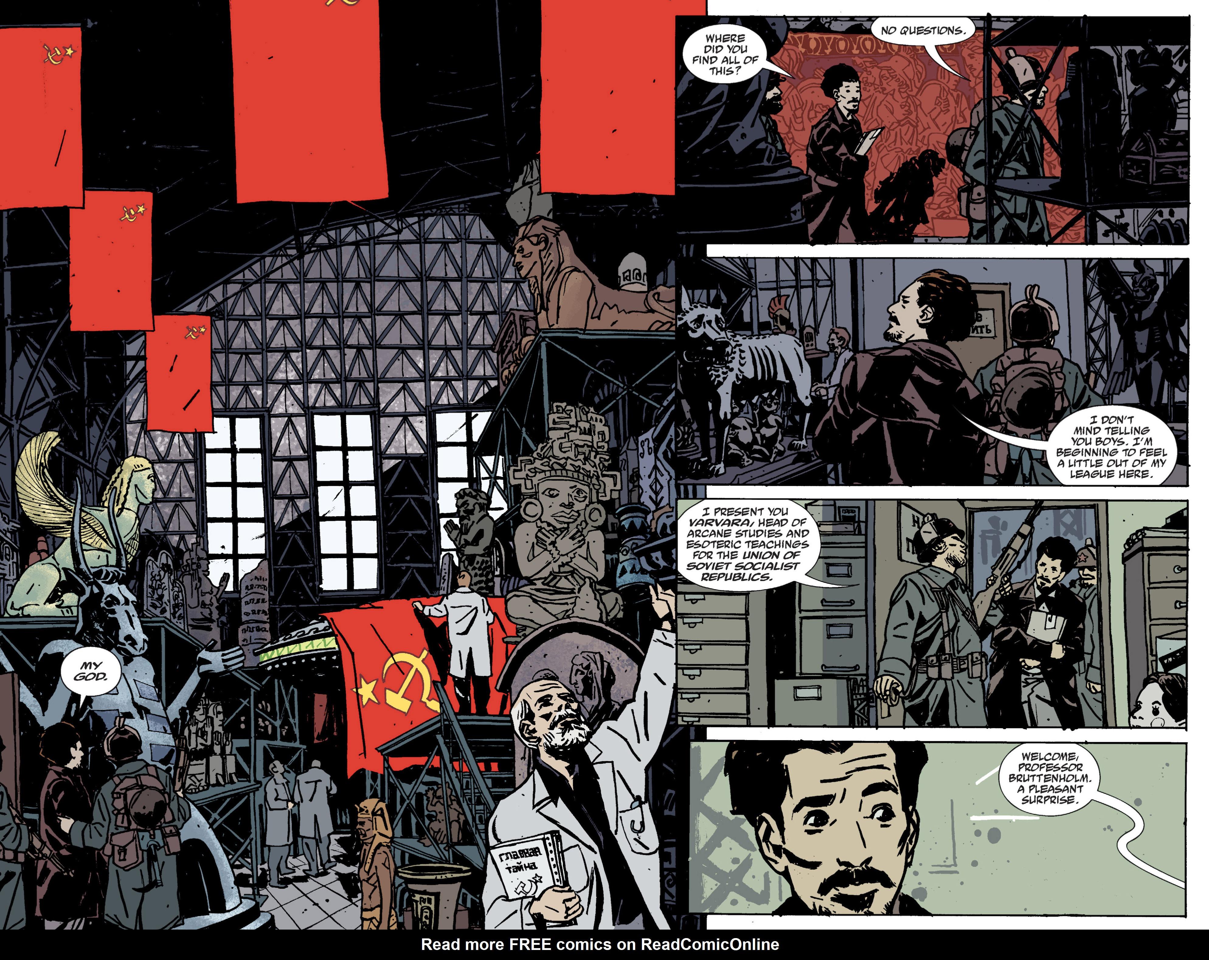 Read online B.P.R.D. (2003) comic -  Issue # TPB 9 - 22