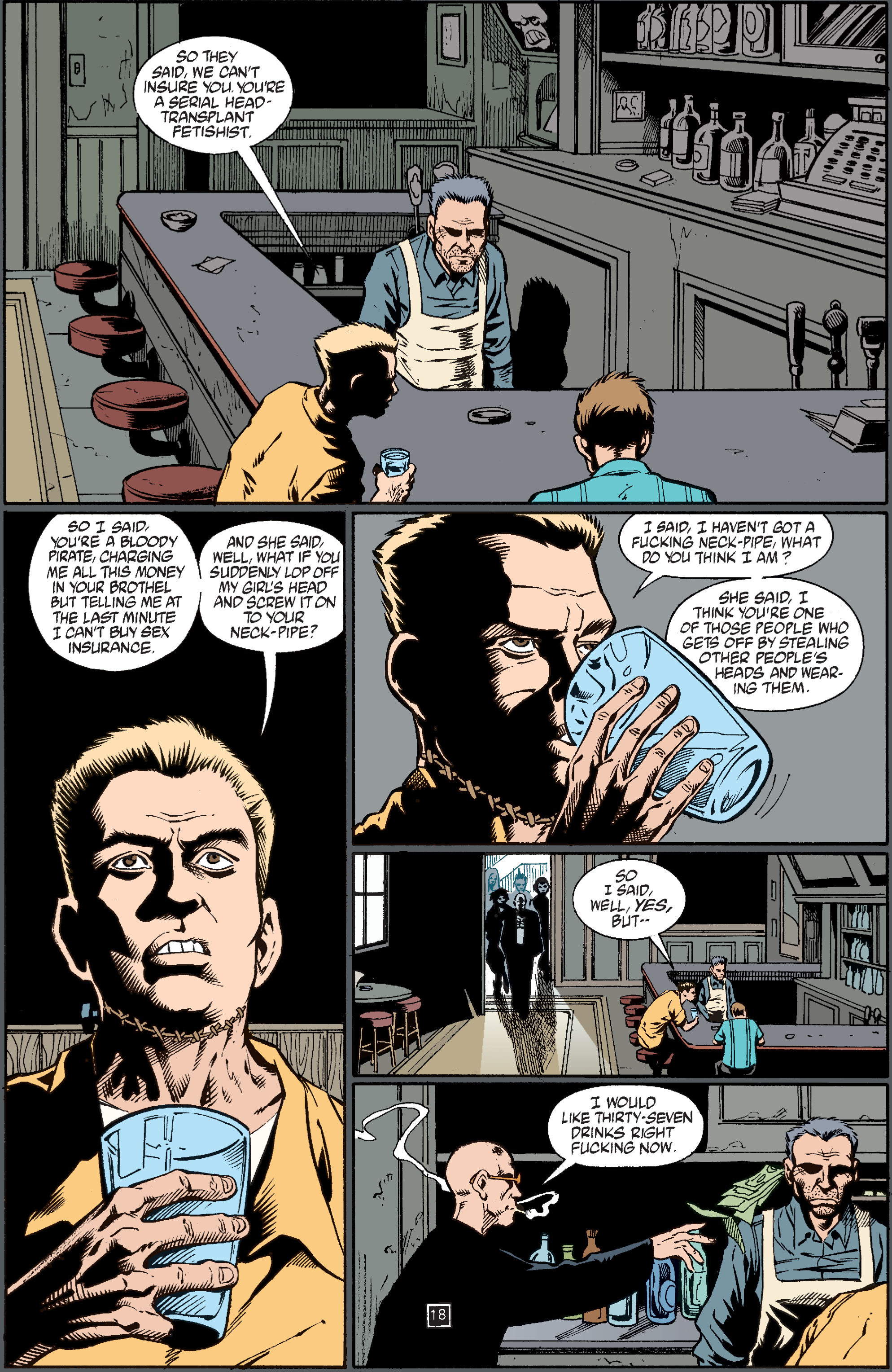 Read online Transmetropolitan comic -  Issue #37 - 19
