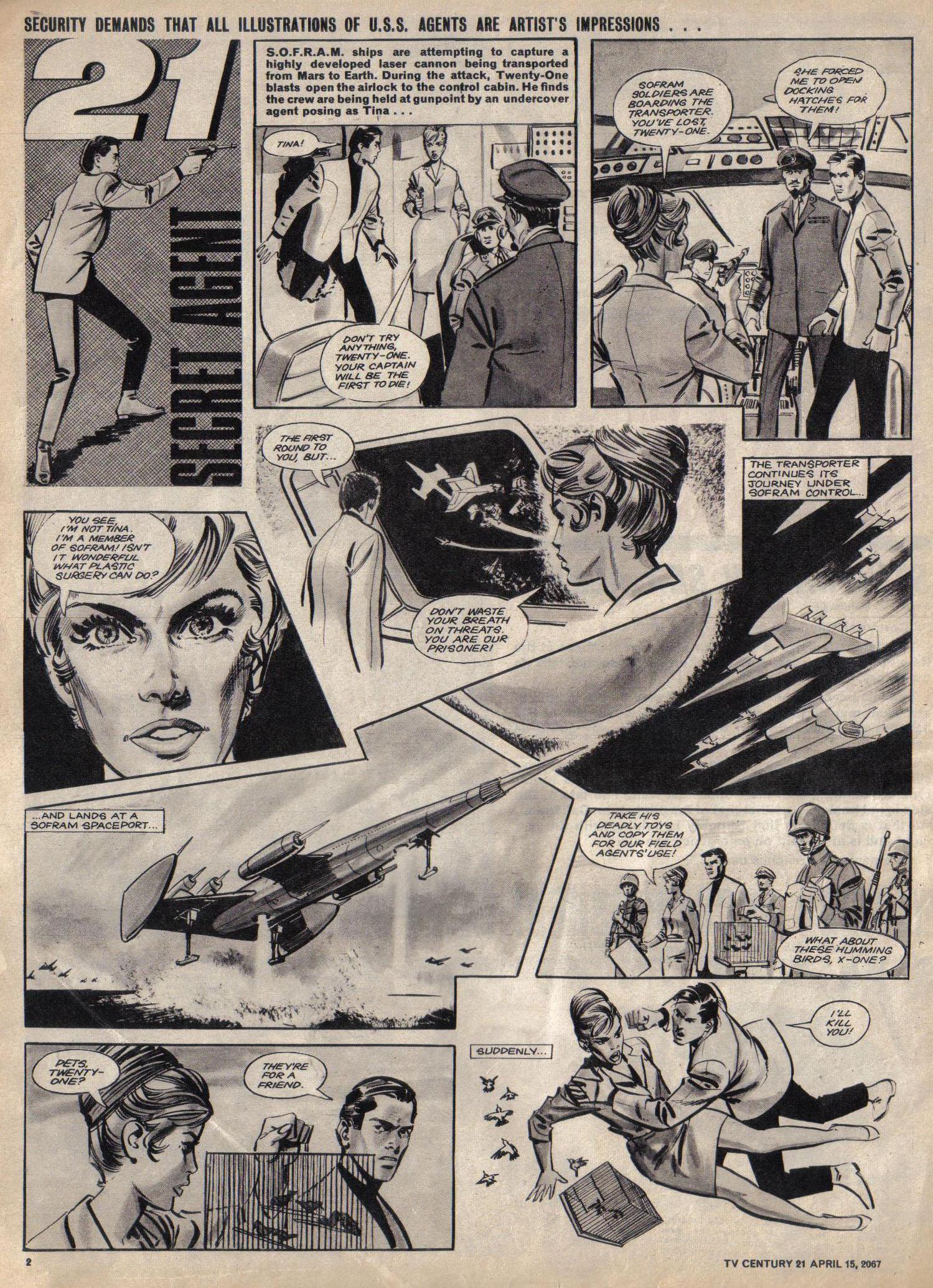 Read online TV Century 21 (TV 21) comic -  Issue #117 - 2
