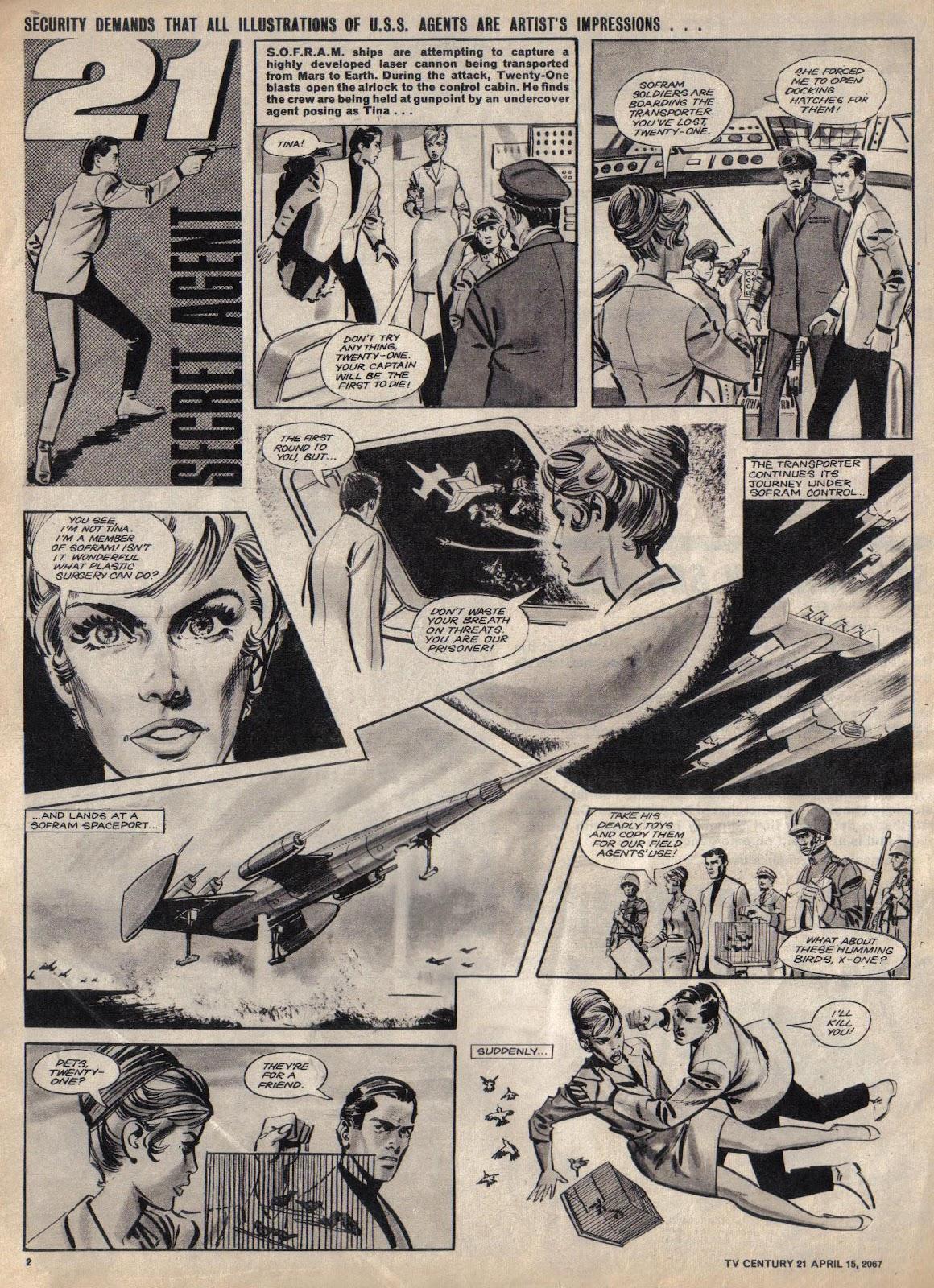 TV Century 21 (TV 21) issue 117 - Page 2