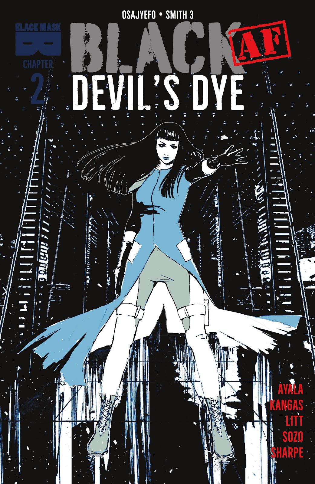 Read online Black (AF): Devil's Dye comic -  Issue #2 - 1
