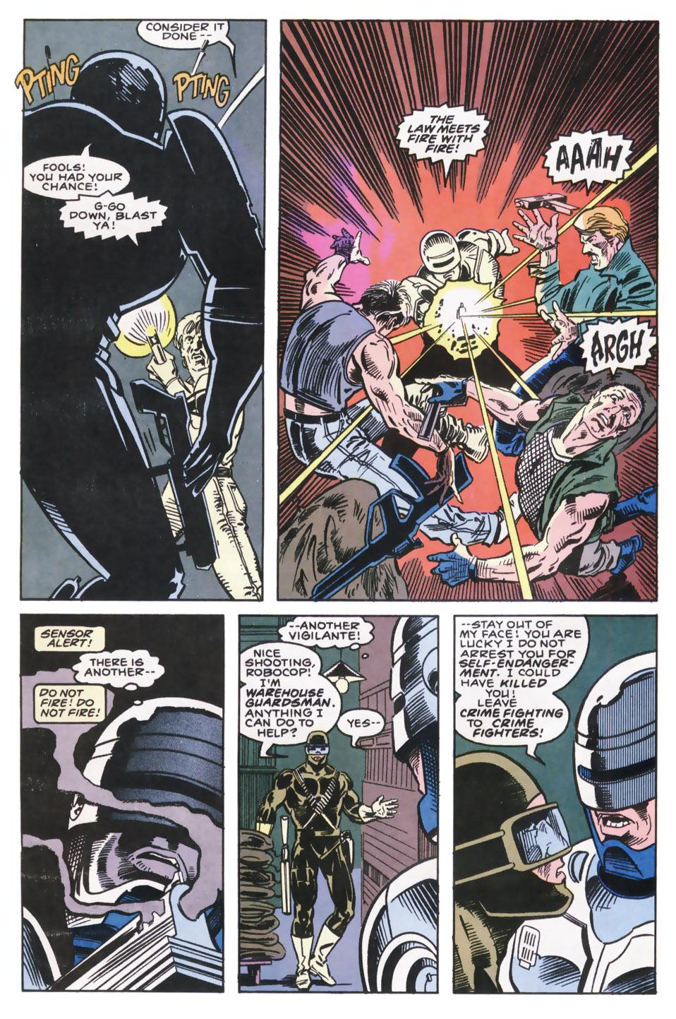Read online Robocop (1990) comic -  Issue #9 - 16