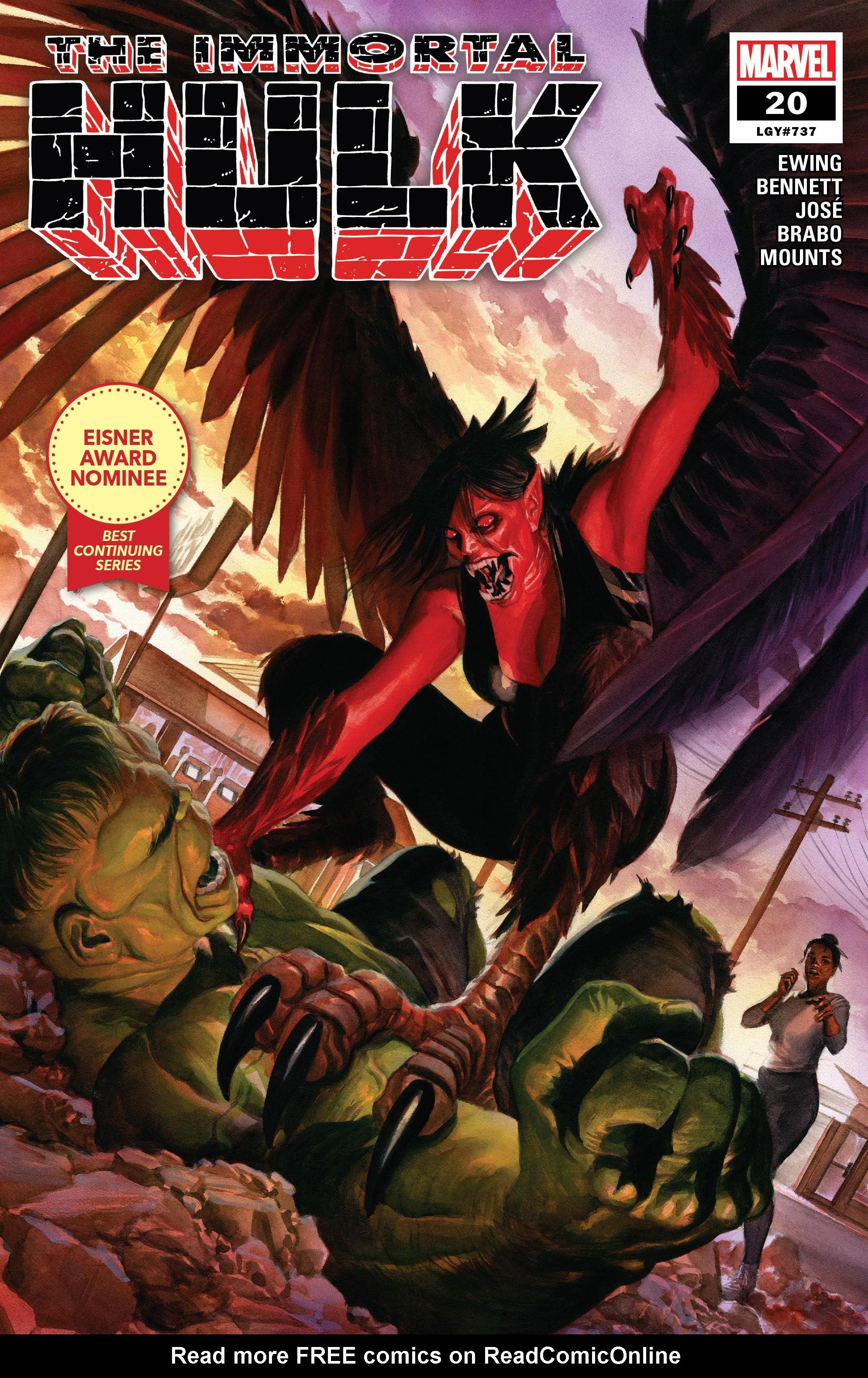 Immortal Hulk (2018) issue 20 - Page 1