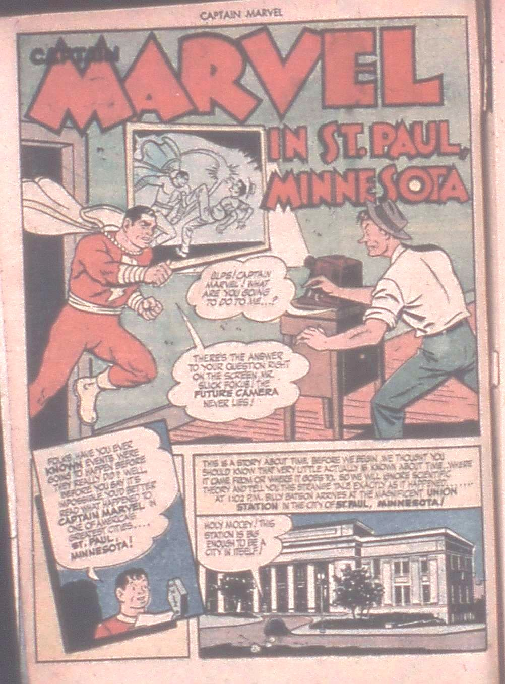Captain Marvel Adventures issue 42 - Page 4