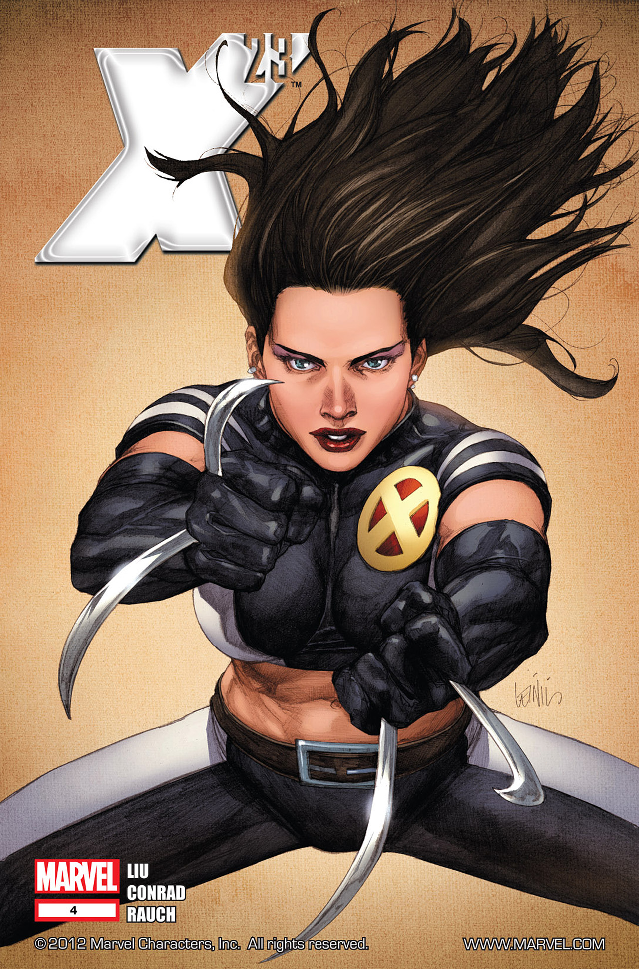 Read online X-23 (2010) comic -  Issue #4 - 1