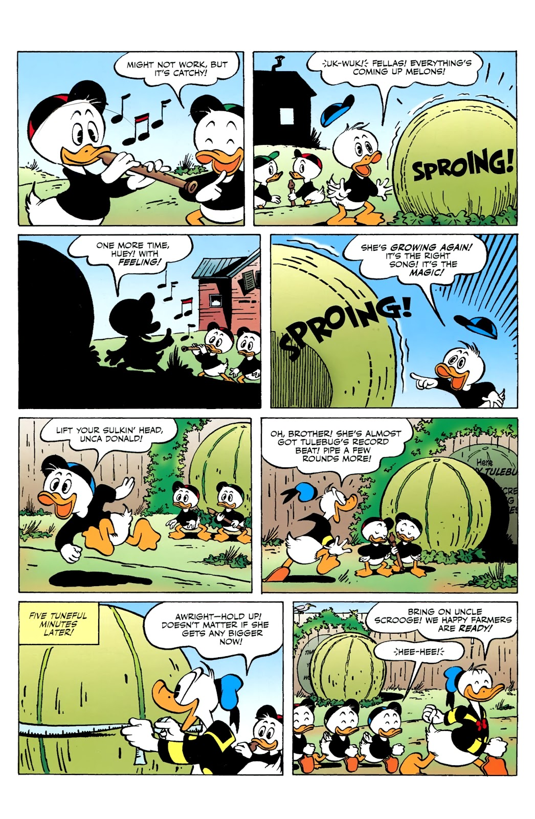 Walt Disney's Comics and Stories issue 730 - Page 10
