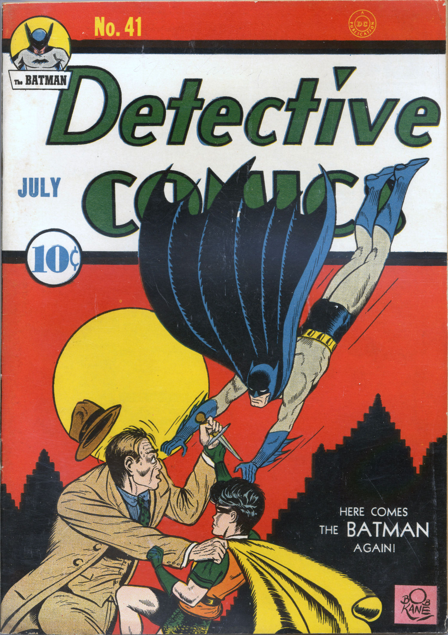 Detective Comics (1937) 41 Page 1