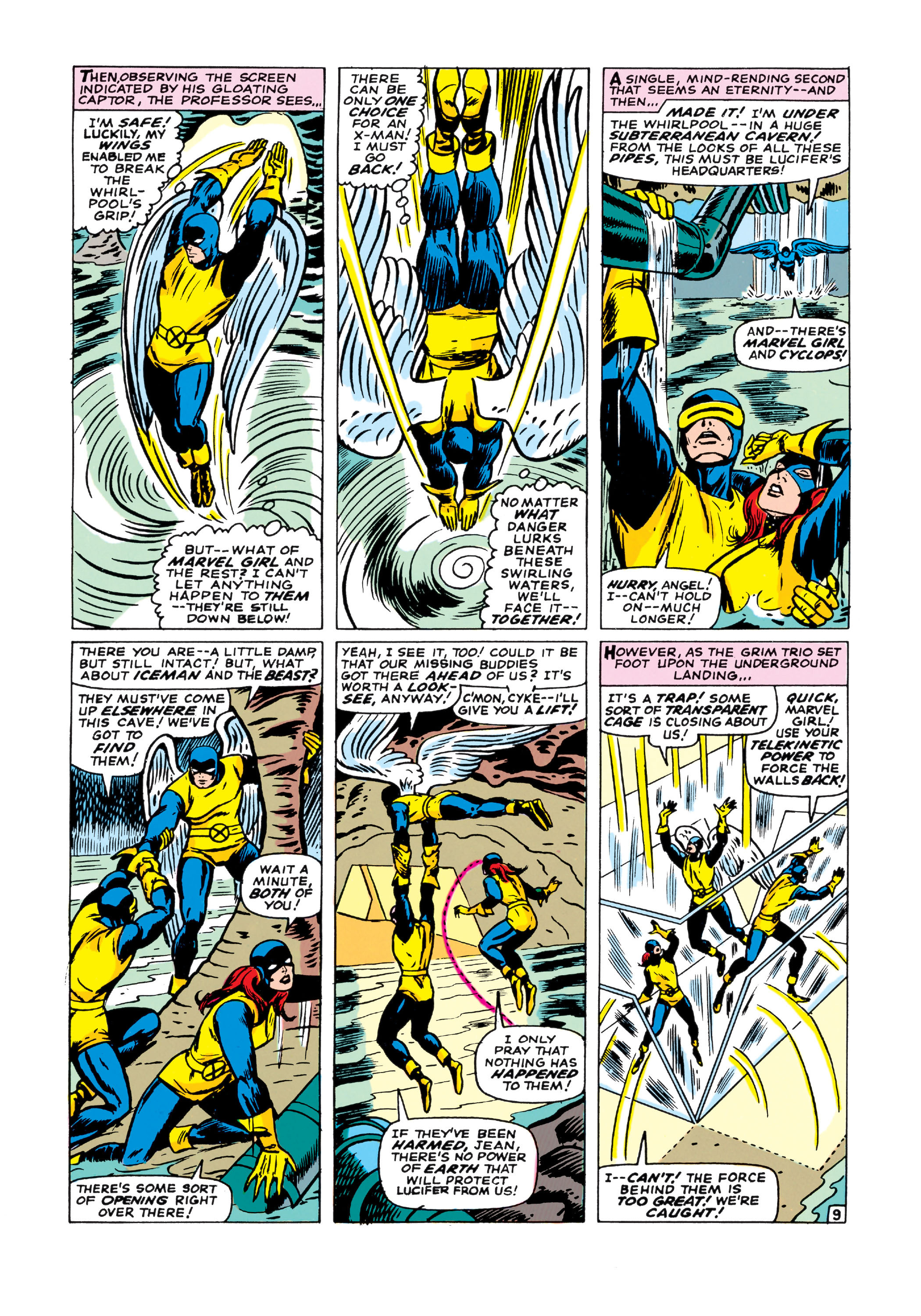 Read online Uncanny X-Men (1963) comic -  Issue #21 - 10
