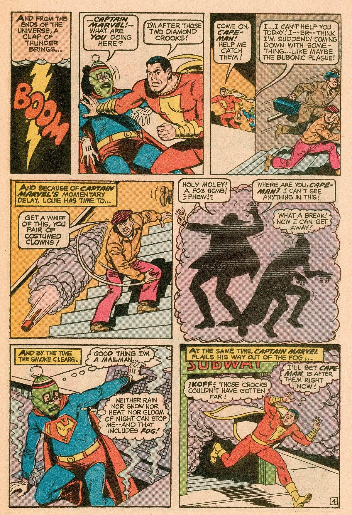 Read online Shazam! (1973) comic -  Issue #11 - 12
