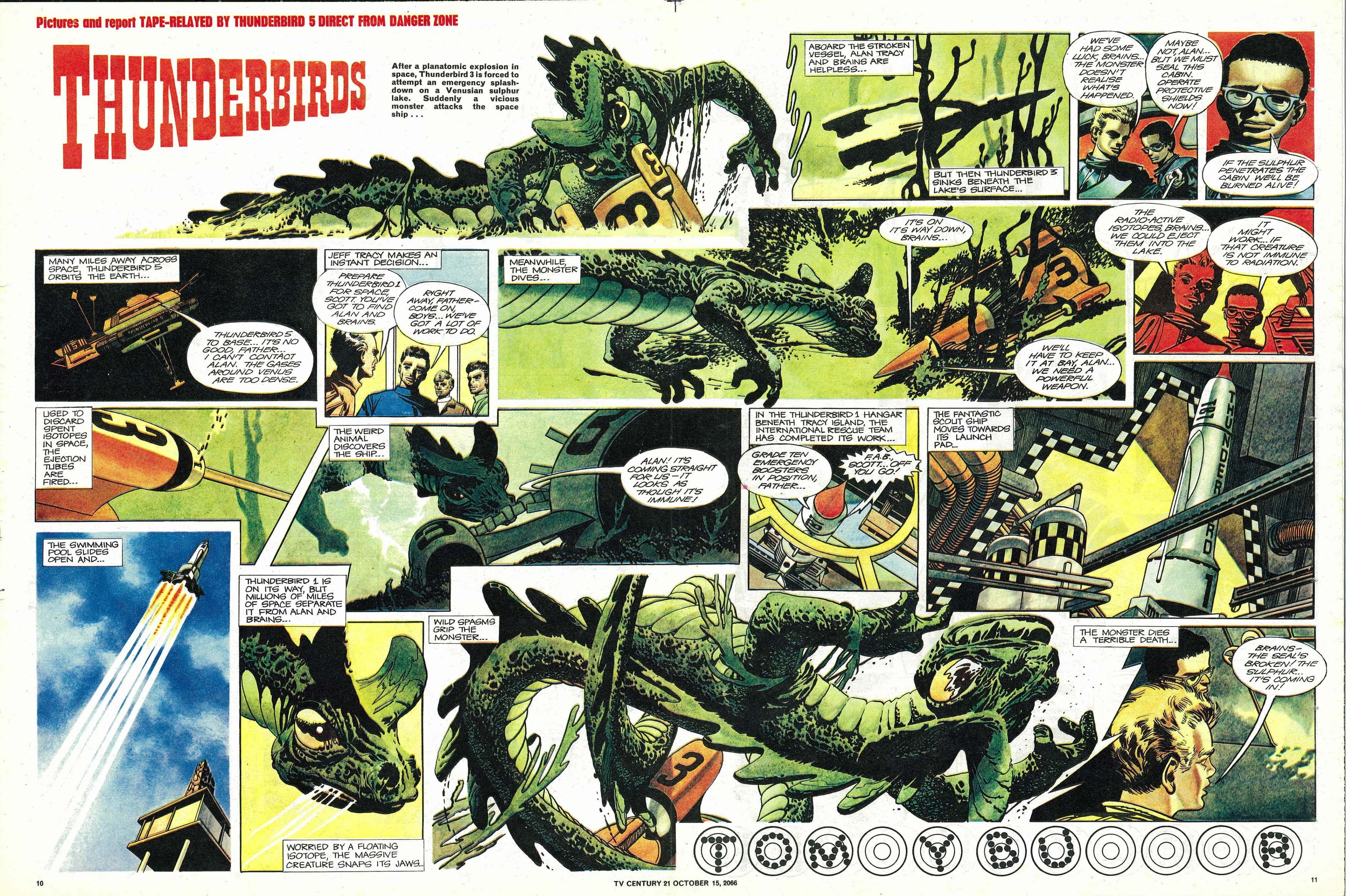 Read online TV Century 21 (TV 21) comic -  Issue #91 - 10