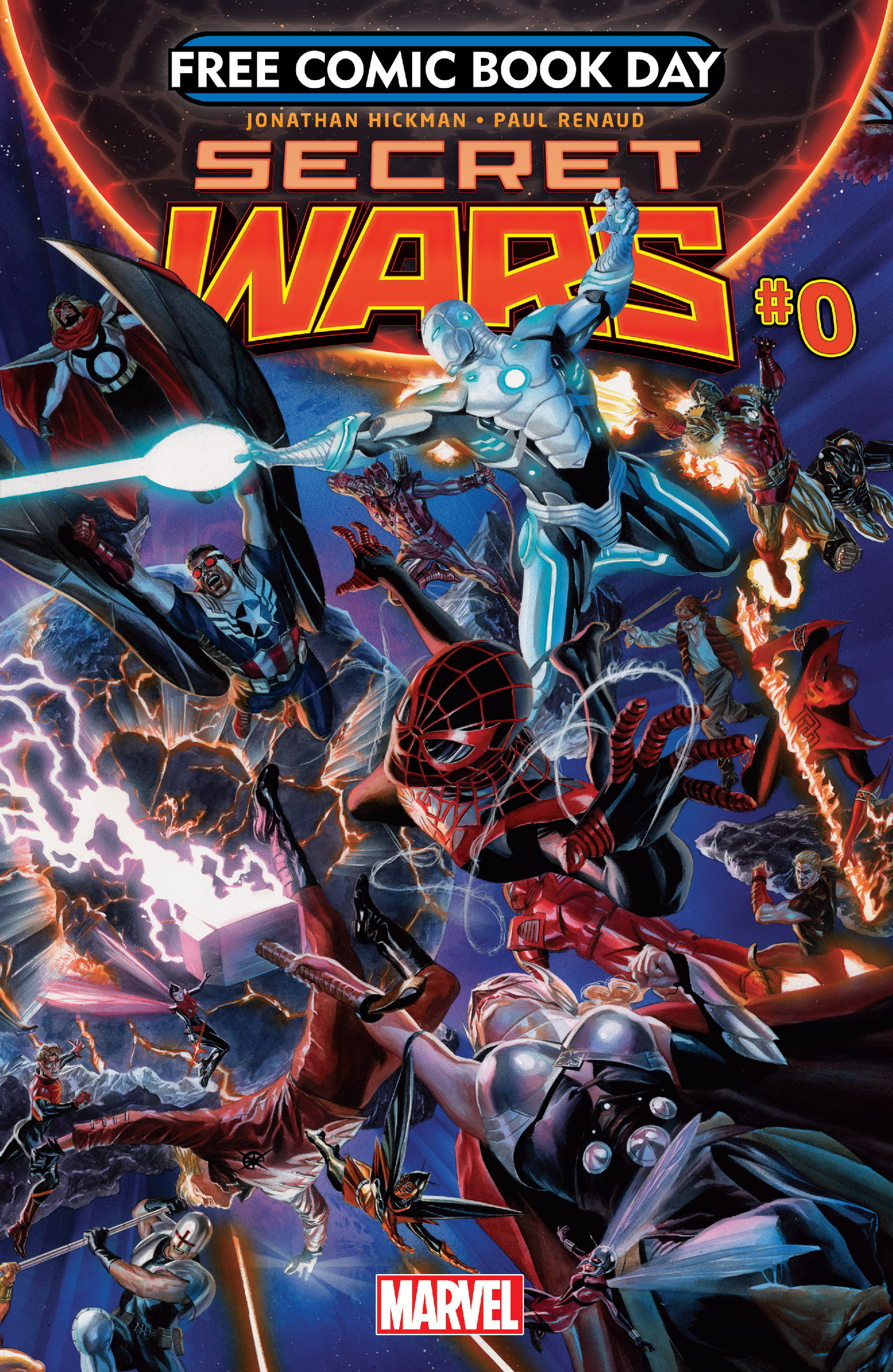 Read online Secret Wars comic -  Issue #0 - 1
