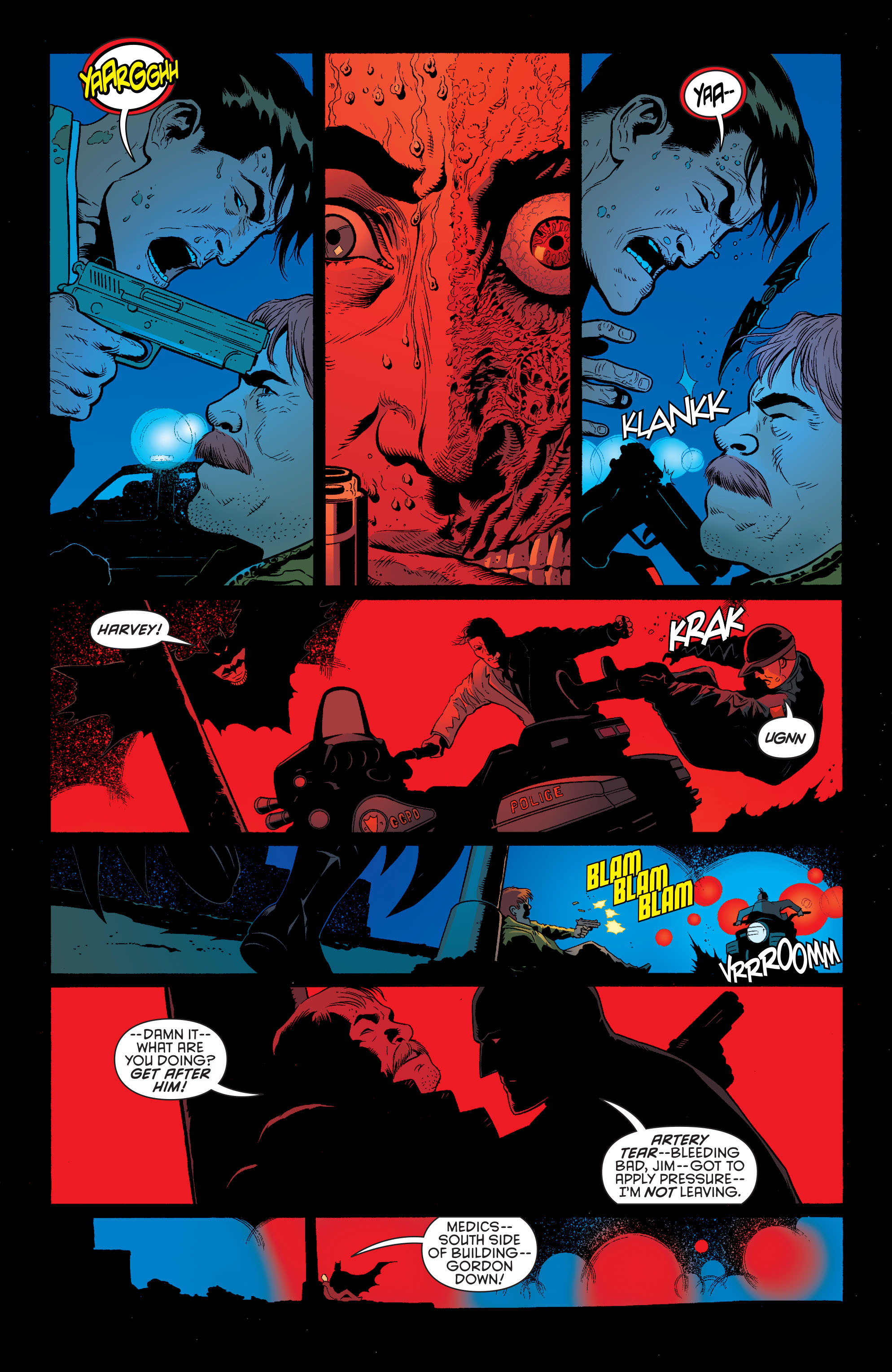 Read online Batman and Robin (2011) comic -  Issue #28 - Batman and Two-Face - 15