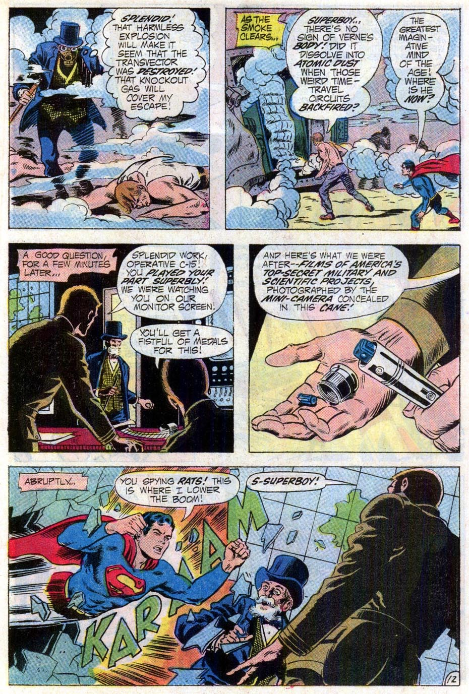 Comic Superboy (1949) issue 181