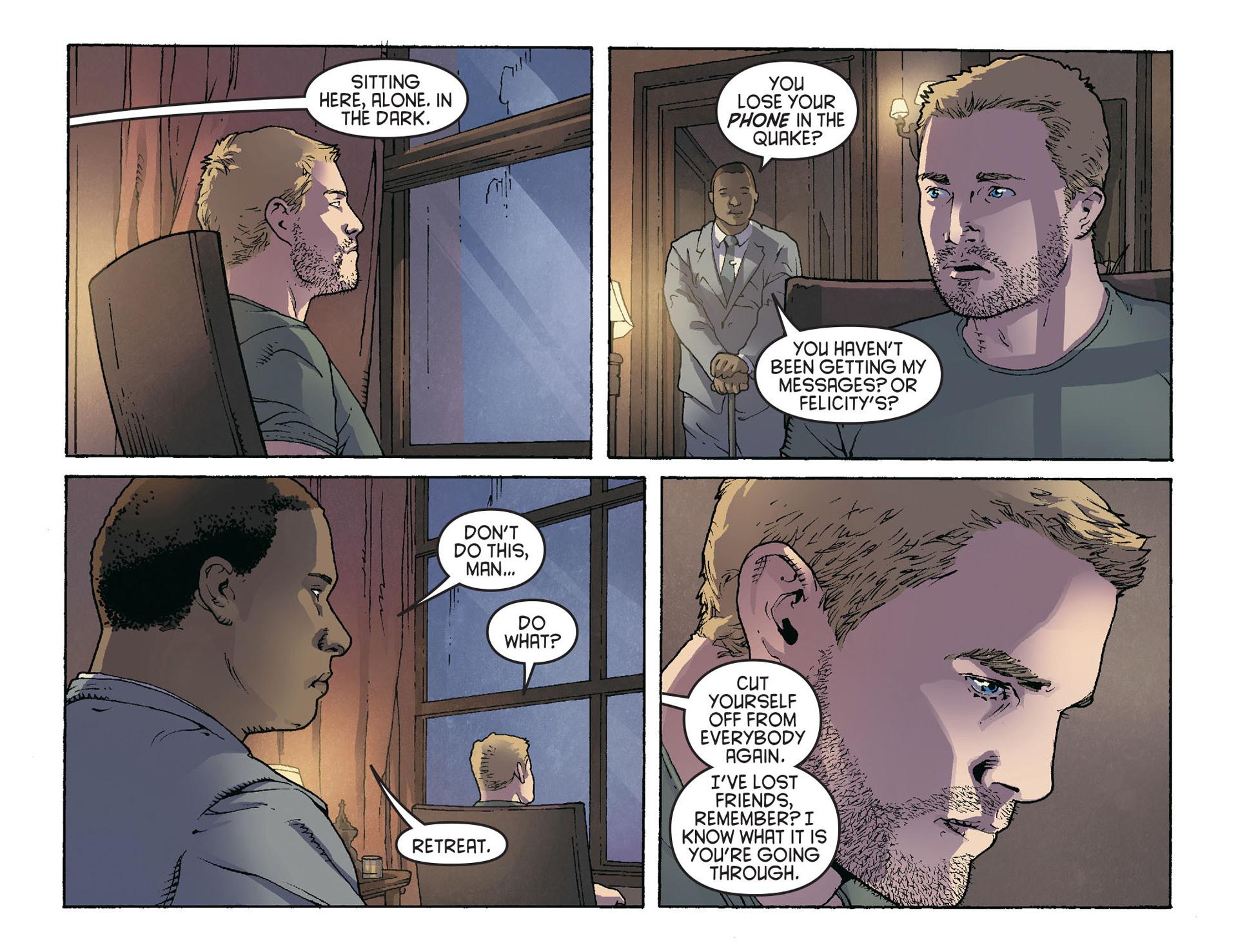 Read online Arrow [II] comic -  Issue #36 - 12