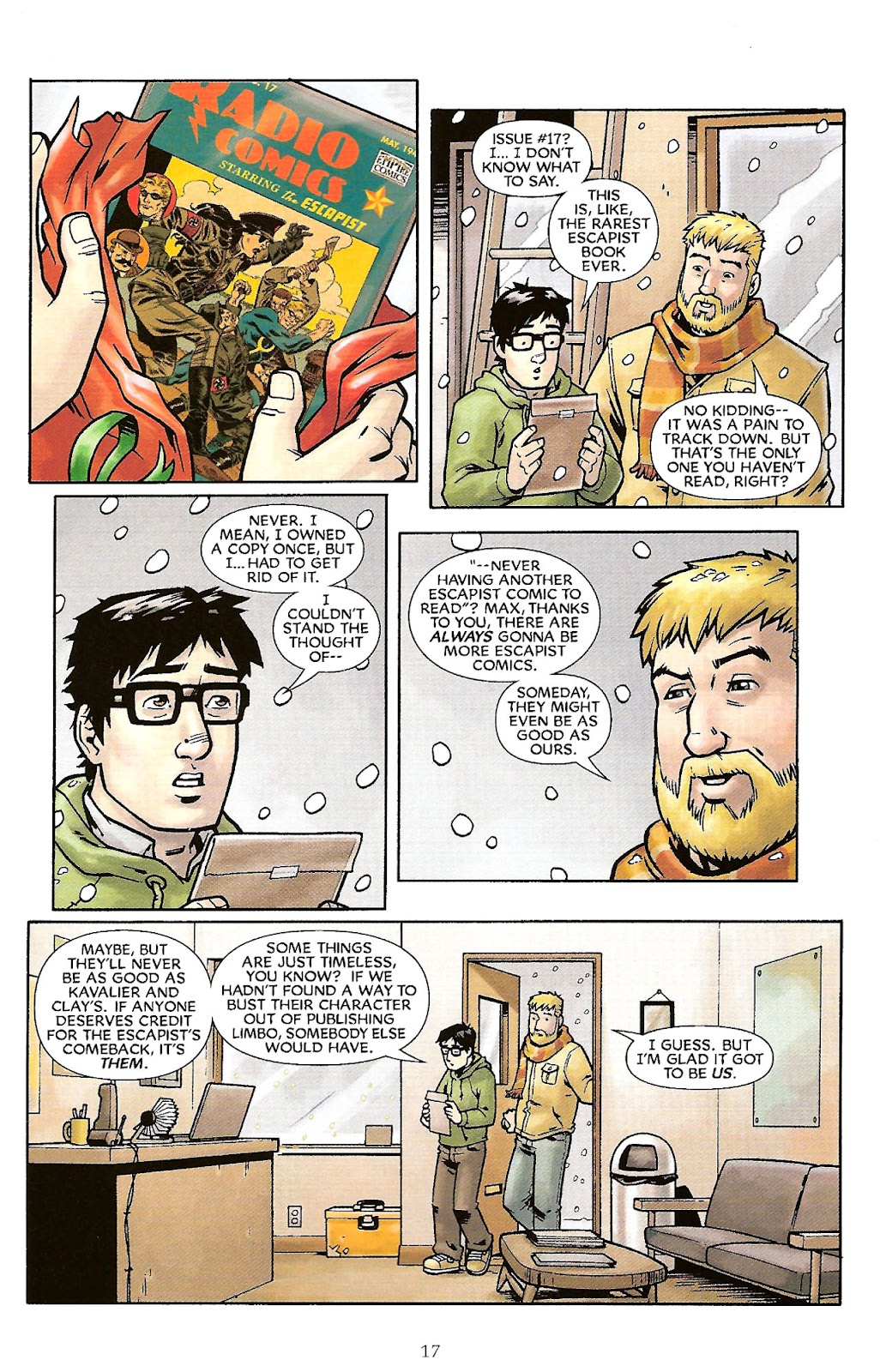Read online The Escapists comic -  Issue #6 - 19