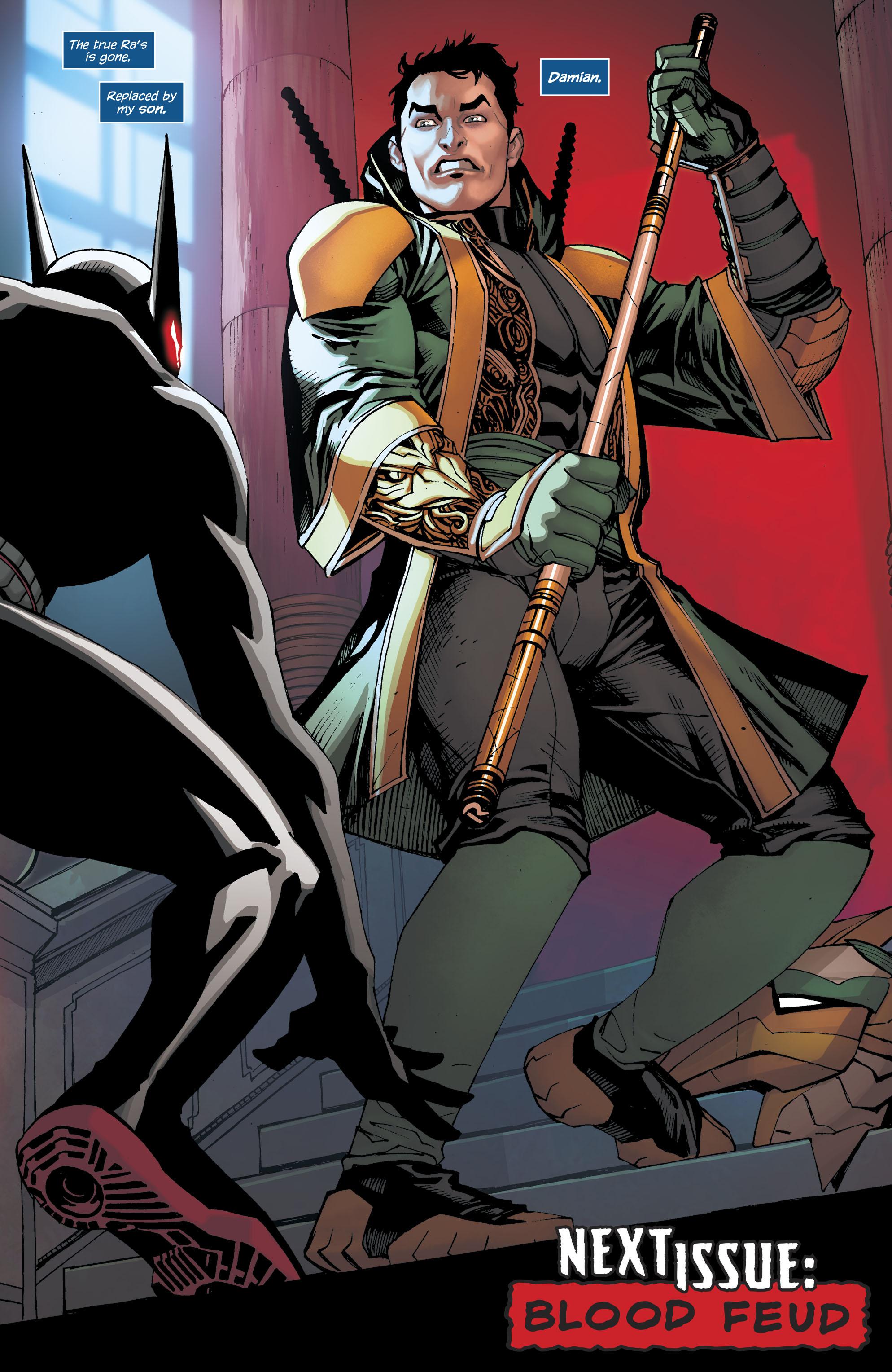 Read online Batman Beyond (2016) comic -  Issue #8 - 22