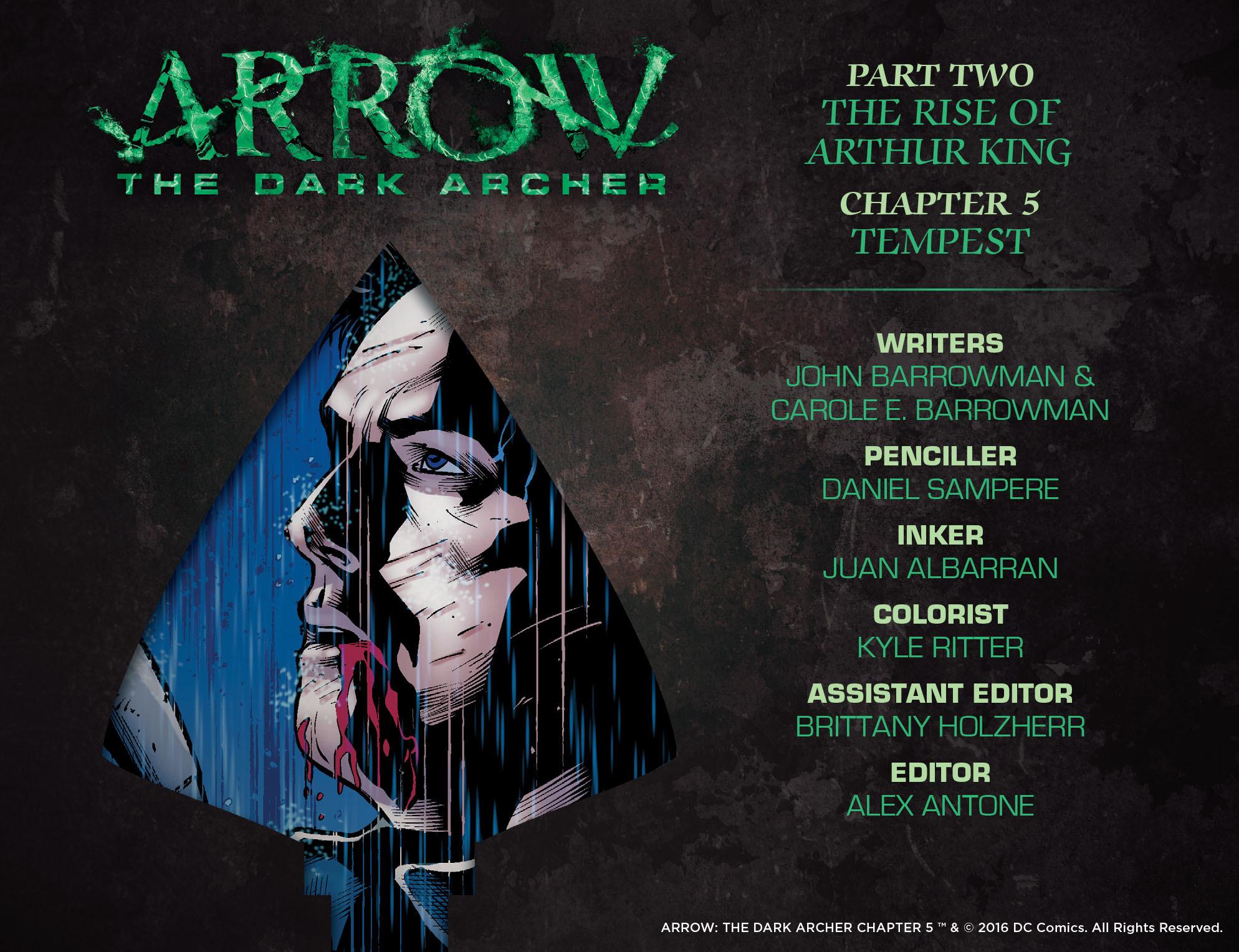 Read online Arrow: The Dark Archer comic -  Issue #5 - 2