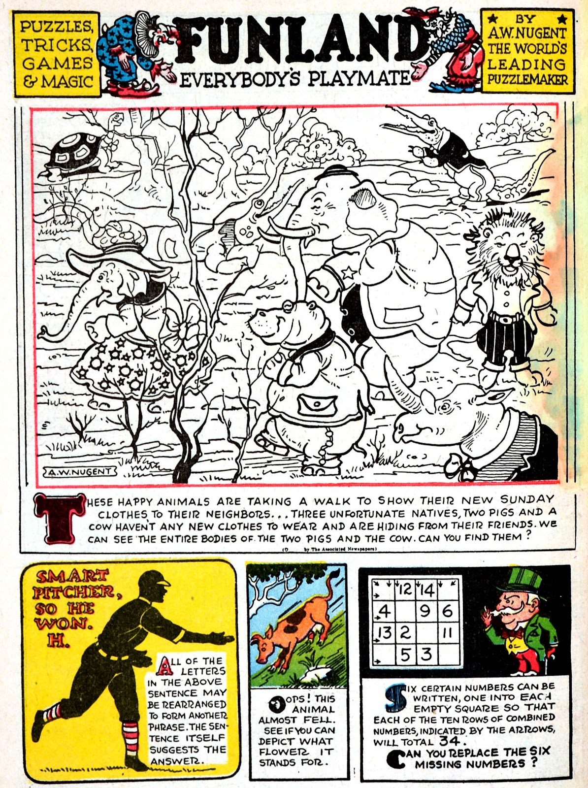 Read online Famous Funnies comic -  Issue #70 - 62