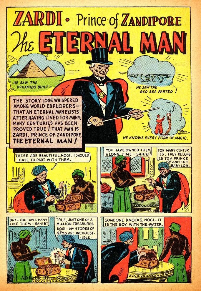 Read online Amazing Man Comics comic -  Issue #12 - 26