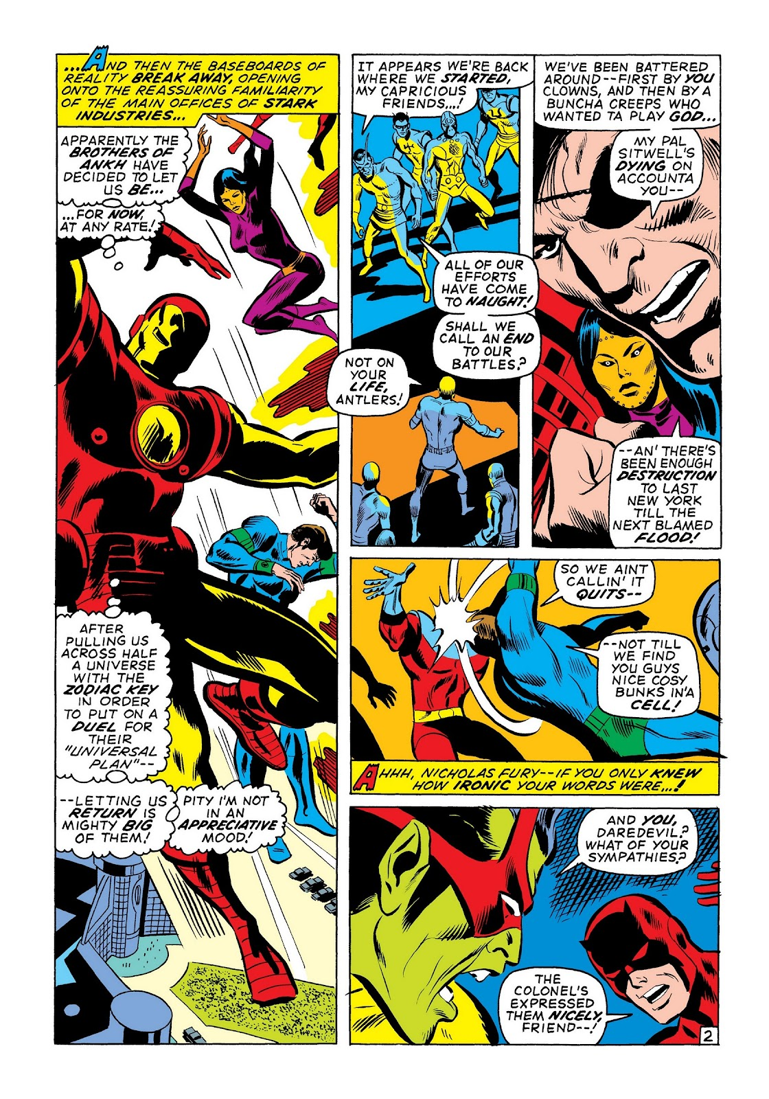 Read online Marvel Masterworks: The Invincible Iron Man comic -  Issue # TPB 7 (Part 3) - 31