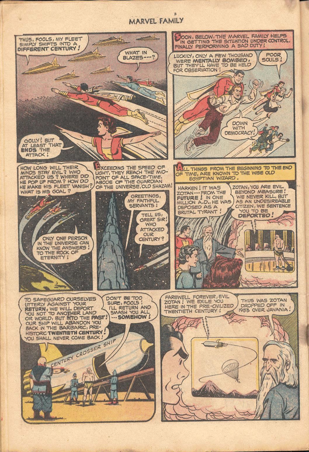 The Marvel Family issue 88 - Page 22