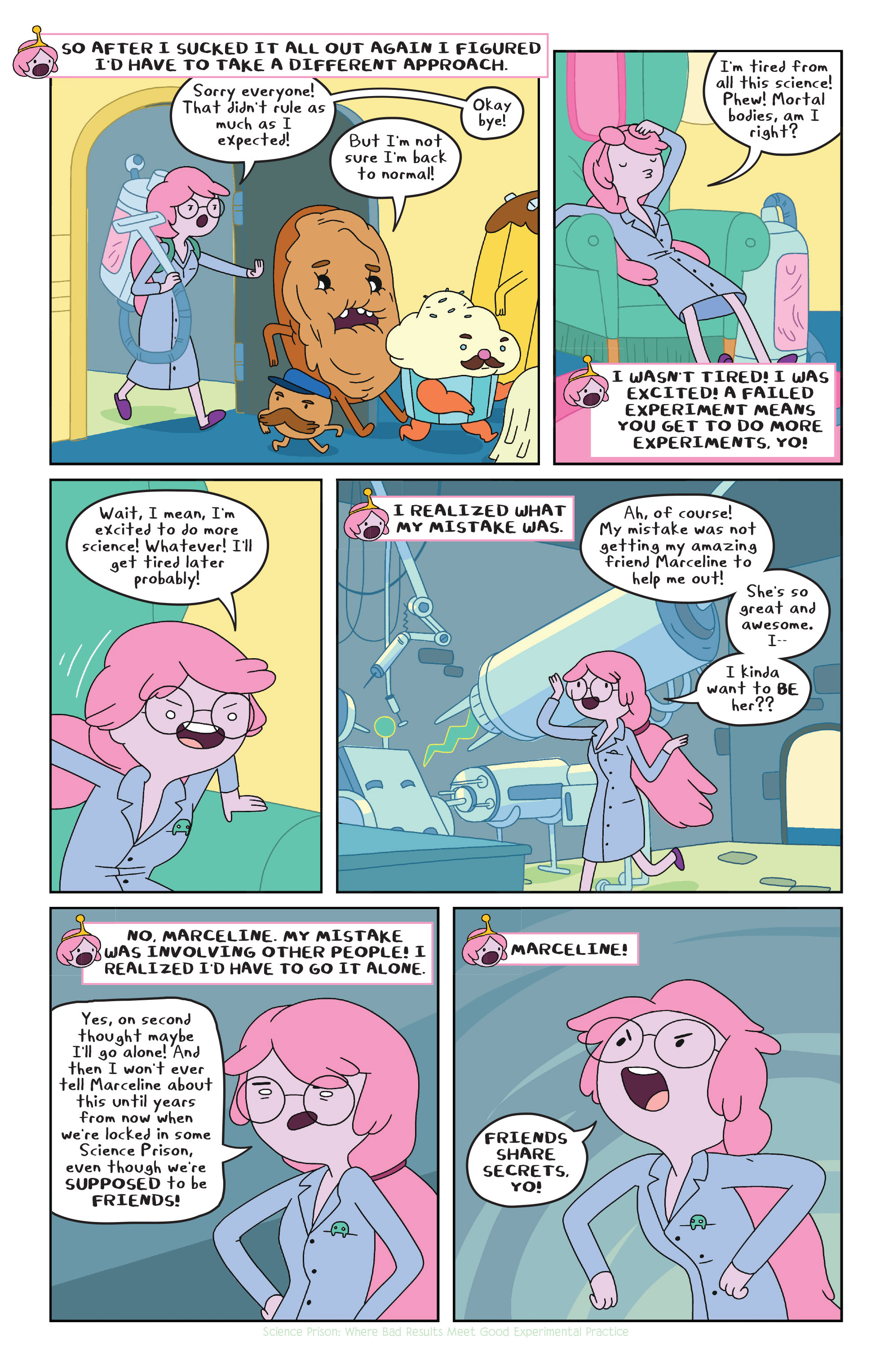Read online Adventure Time comic -  Issue #23 - 12