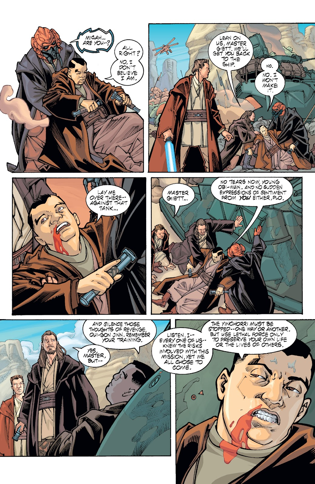 Read online Star Wars Legends: Rise of the Sith - Epic Collection comic -  Issue # TPB 1 (Part 5) - 43