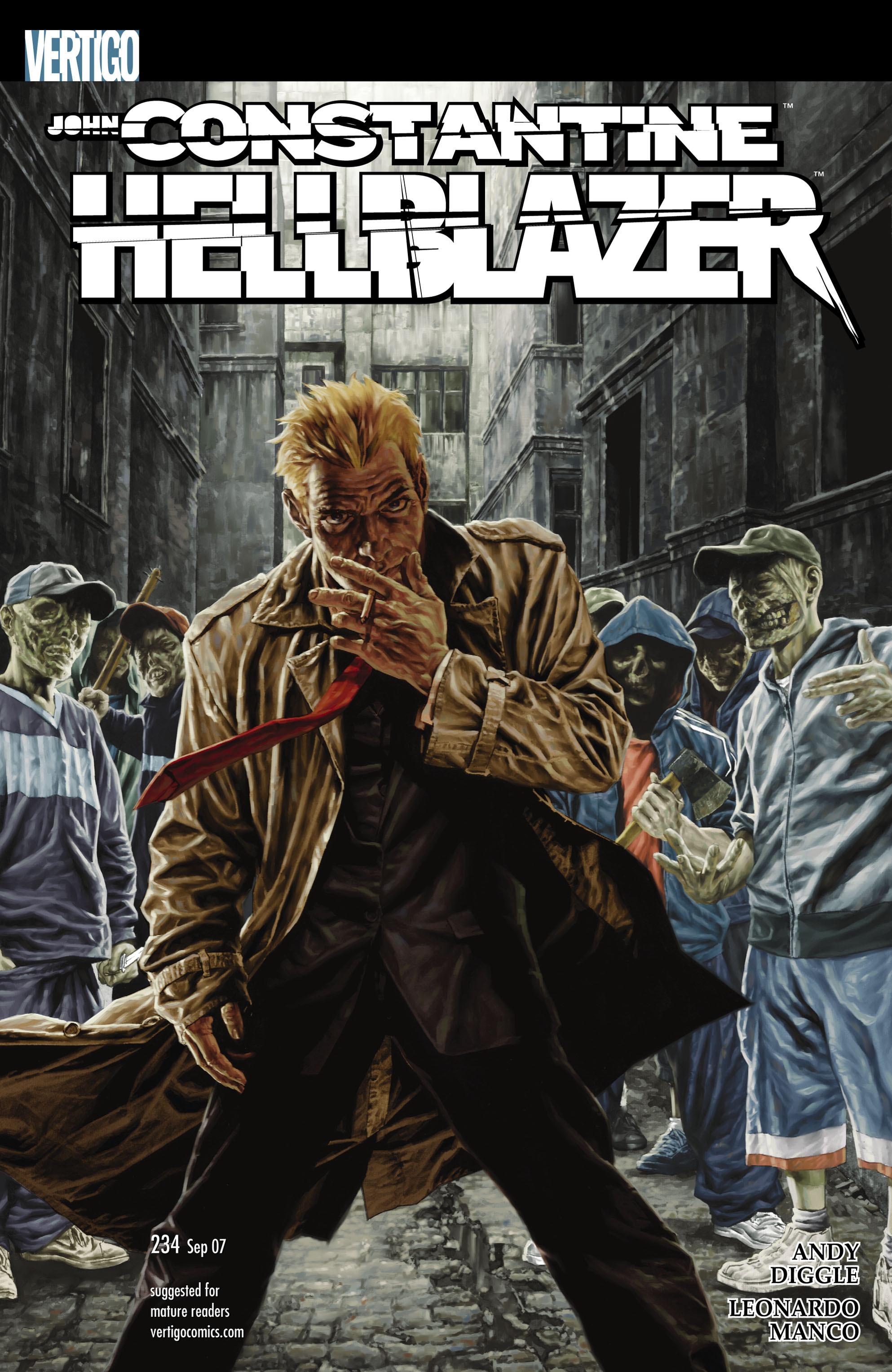 Hellblazer issue 234 - Page 1
