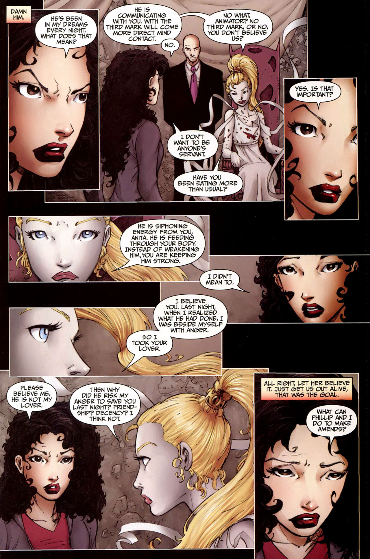 Read online Anita Blake, Vampire Hunter: Guilty Pleasures comic -  Issue #9 - 22