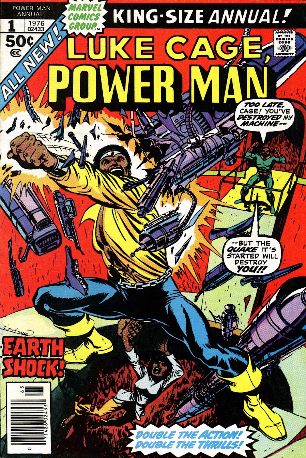 Power Man issue Annual 1 - Page 1